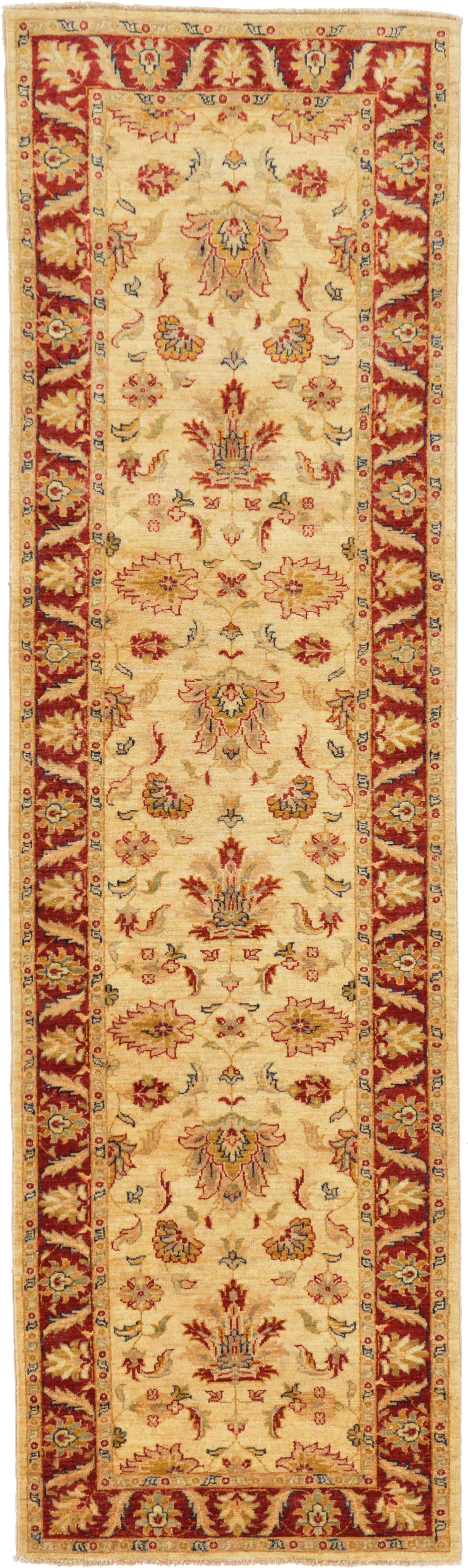 One-of-a-Kind Huntingdon Runner Hand-Knotted  3' x 10'1