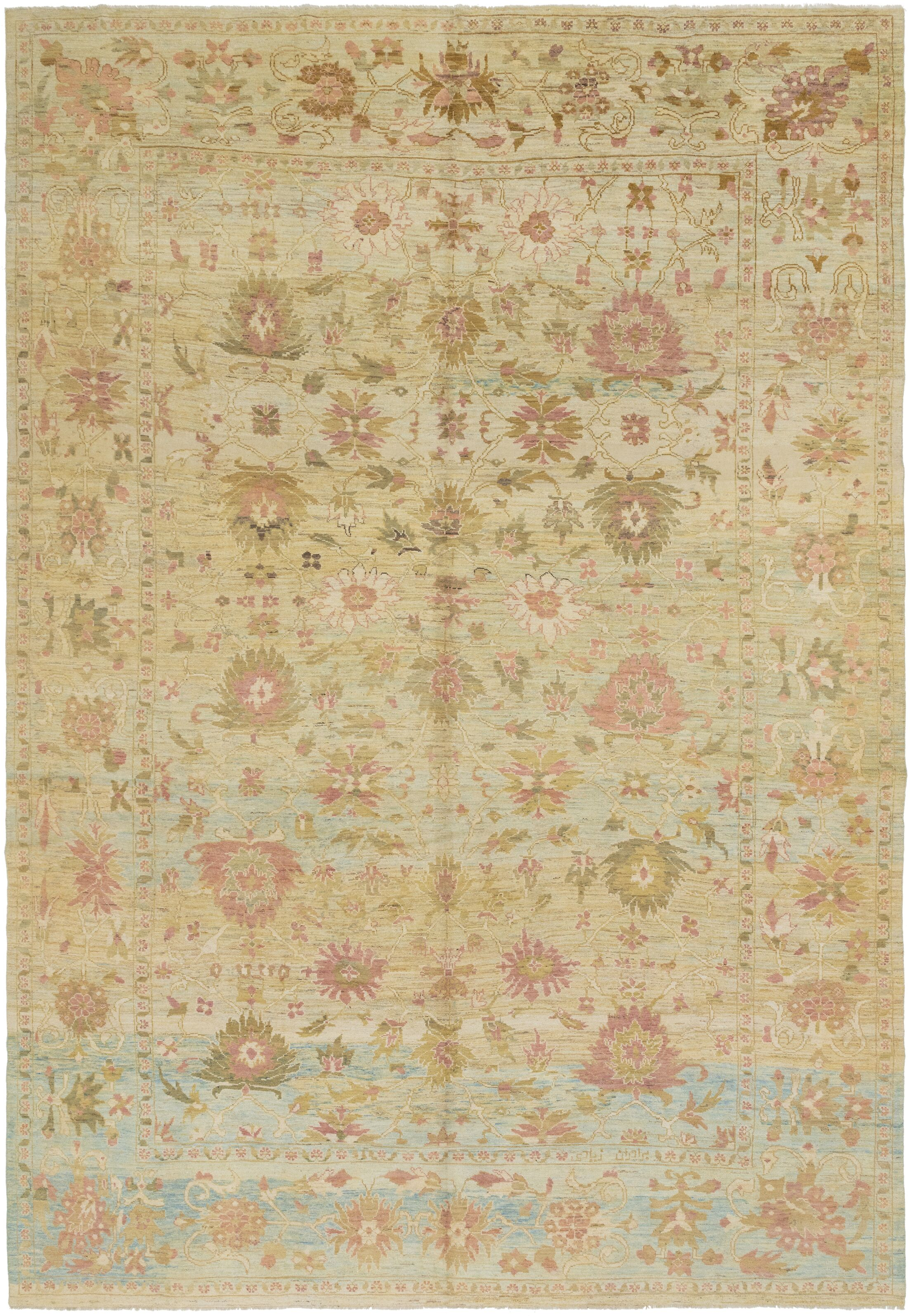 One-of-a-Kind Mart Hand-Knotted  13' x 19'2