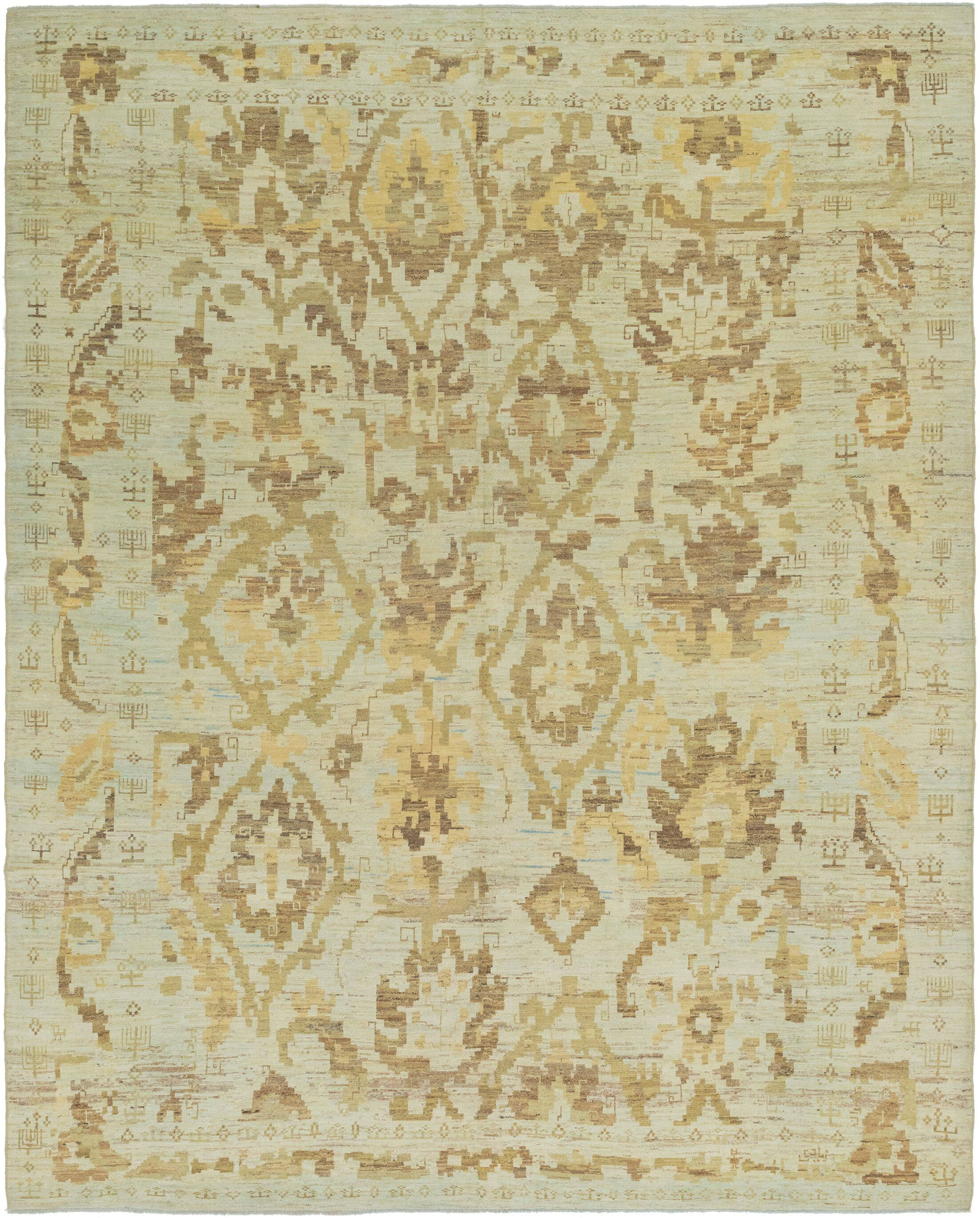 One-of-a-Kind Mart Hand-Knotted  12'2