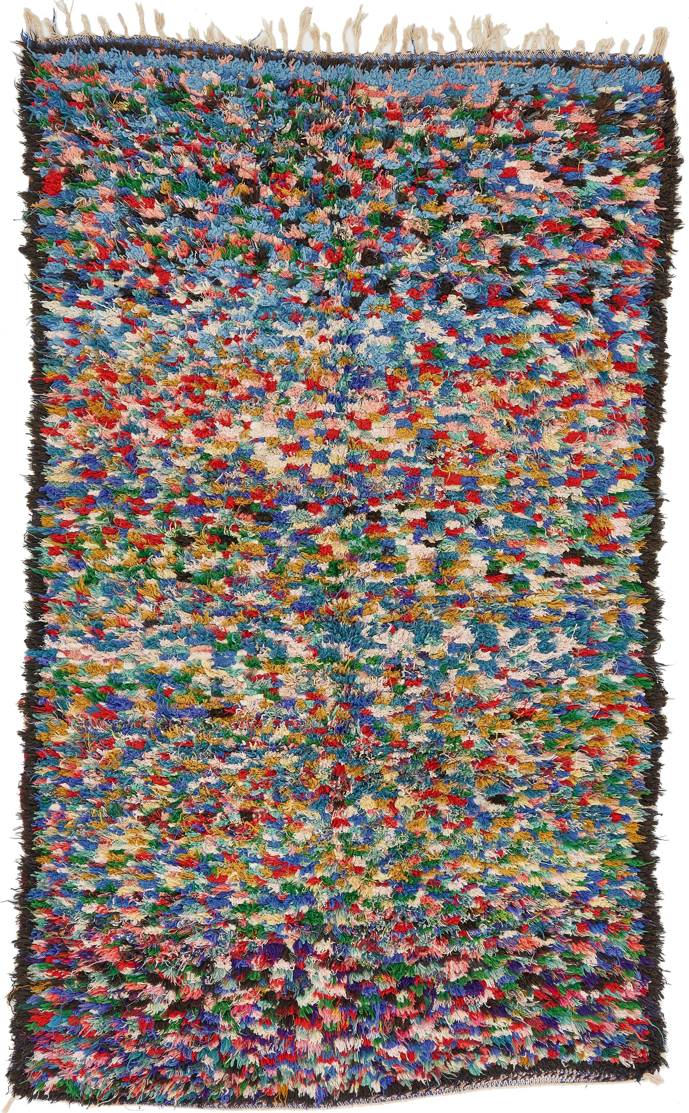 One-of-a-Kind Ilfracombe Hand-Knotted 4' x 6'8