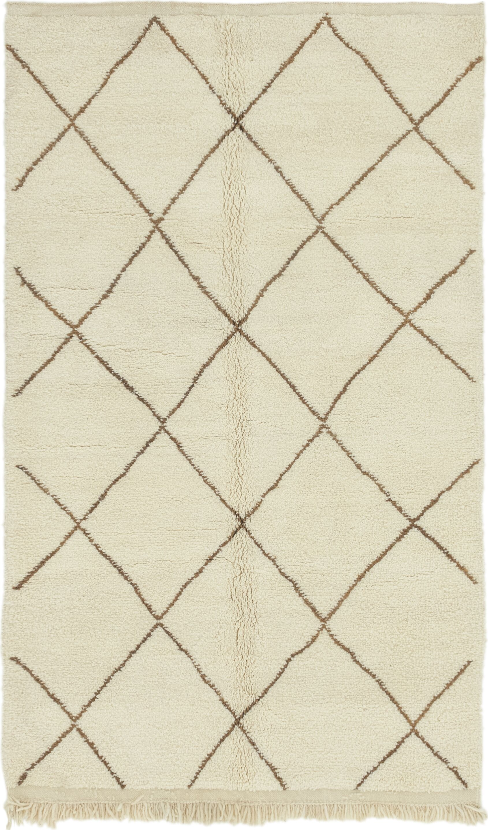 One-of-a-Kind Ilfracombe Hand-Knotted 4'9