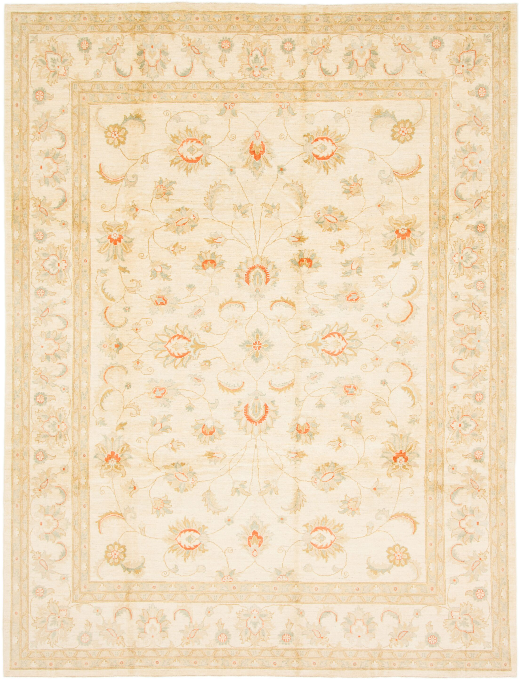 One-of-a-Kind Huntingdon Hand-Knotted  9' x 11'10