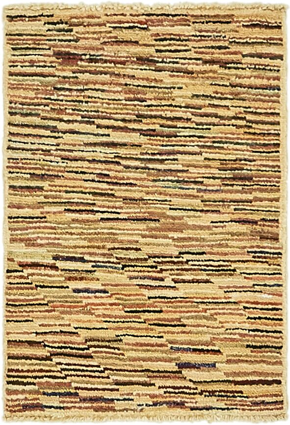 One-of-a-Kind Nash Hand-Knotted Wool Brown/Beige Area Rug