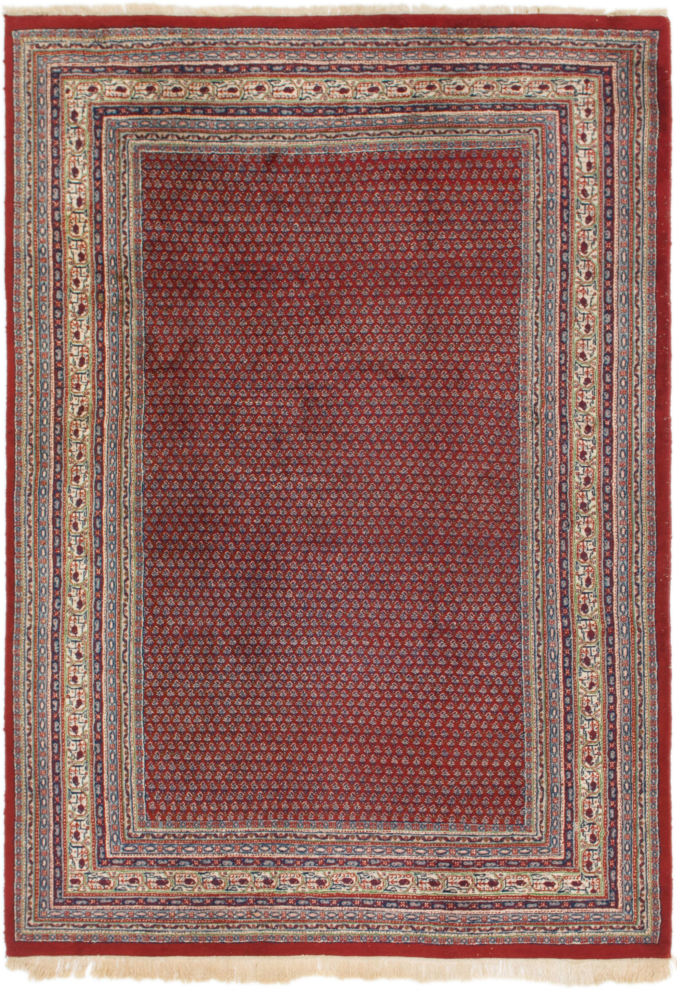 One-of-a-Kind Ilford Hand-Knotted Wool Red/Brown Area Rug