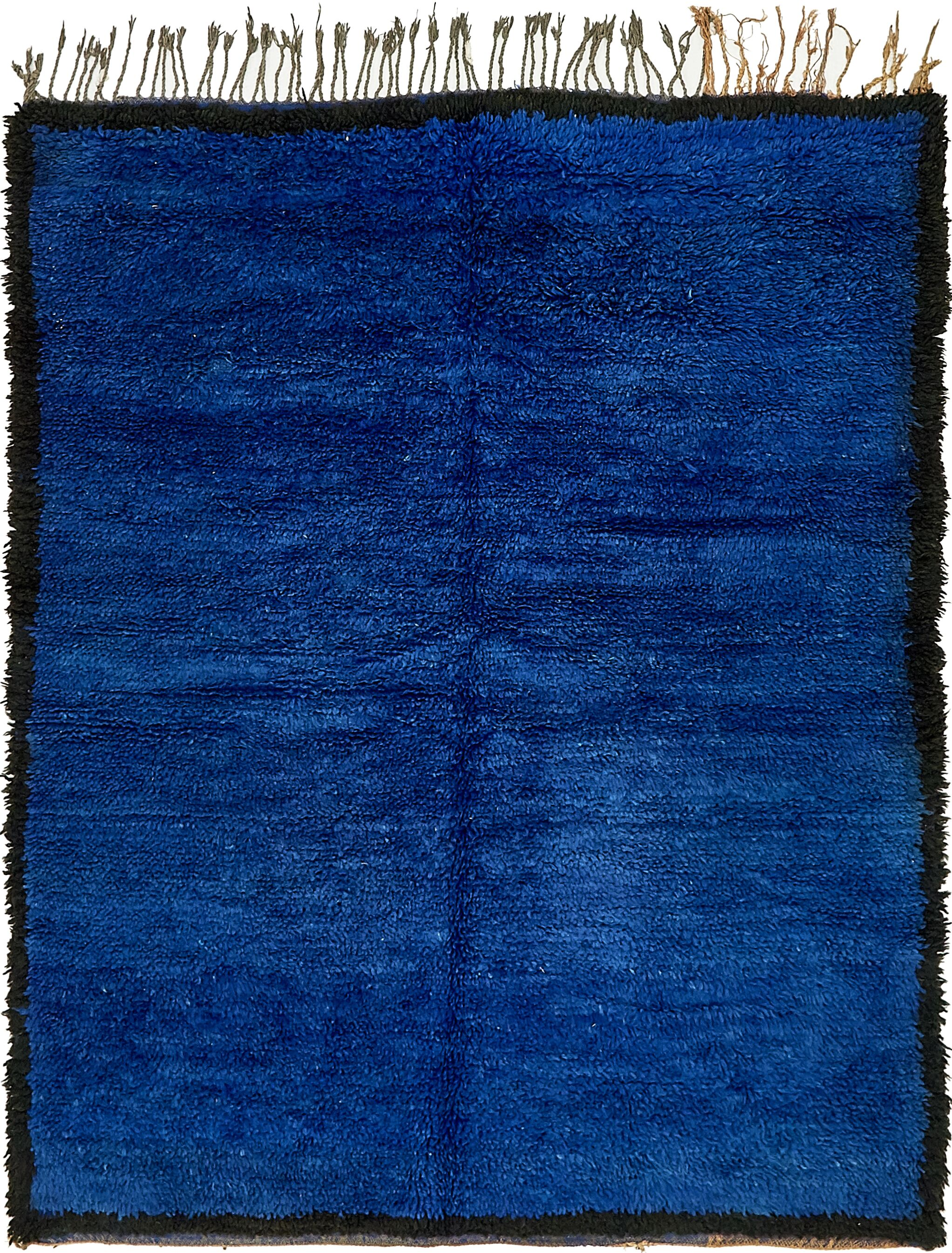 One-of-a-Kind Ulverst Hand-Knotted Wool Blue Area Rug
