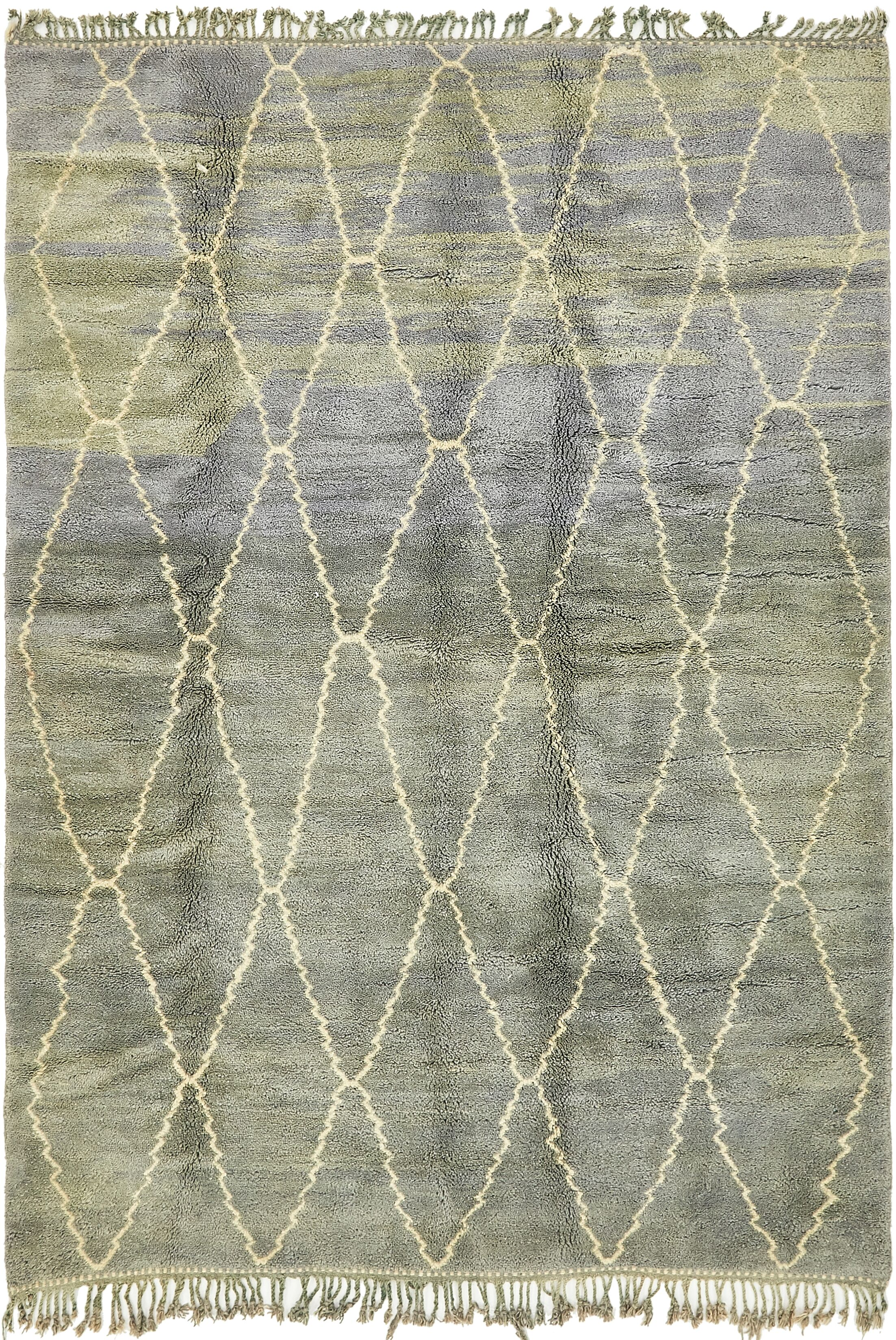 One-of-a-Kind Sandiacre Hand-Knotted Wool Gray Area Rug