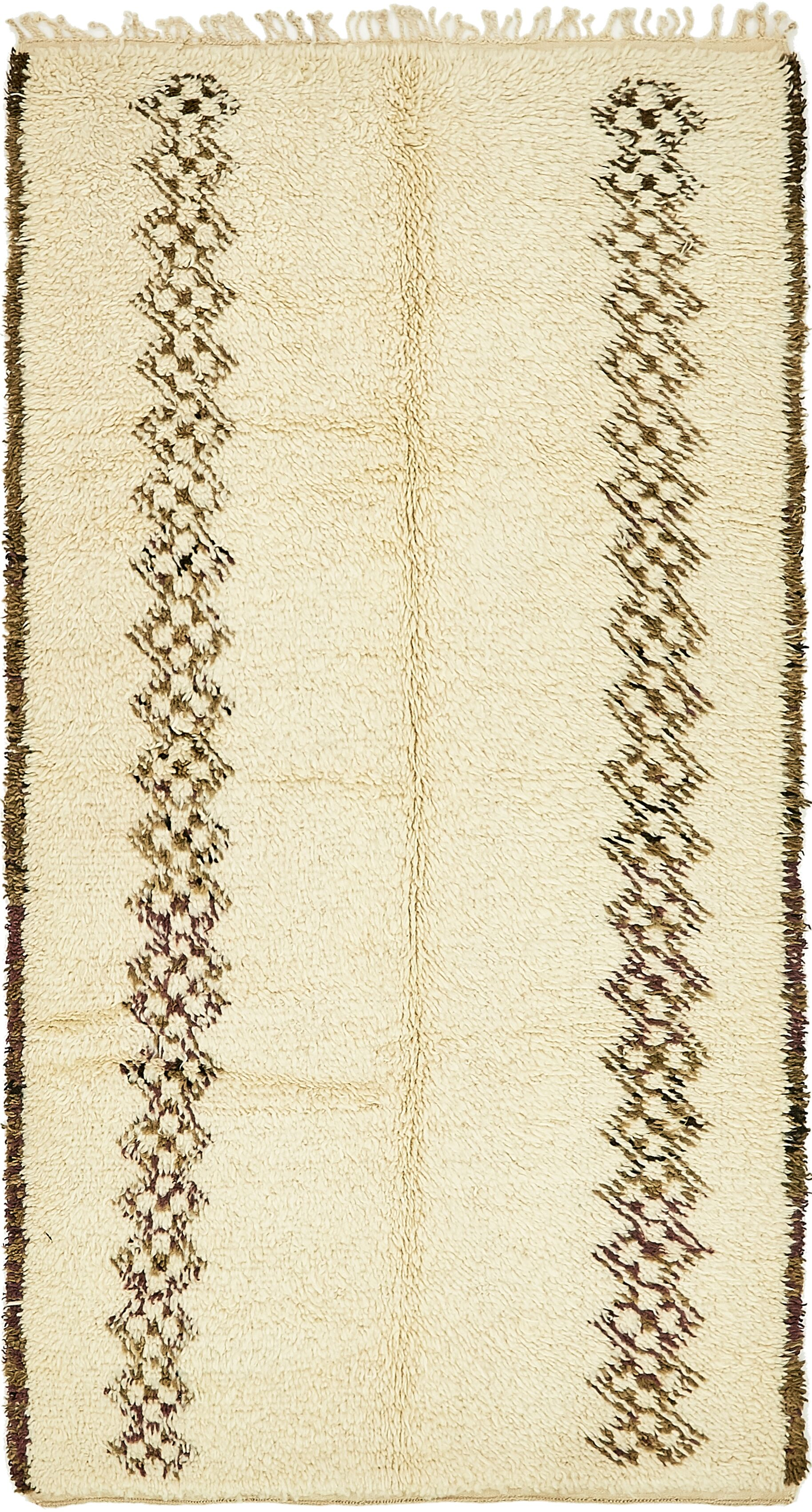 One-of-a-Kind Sandbach Hand-Knotted Wool Beige Area Rug