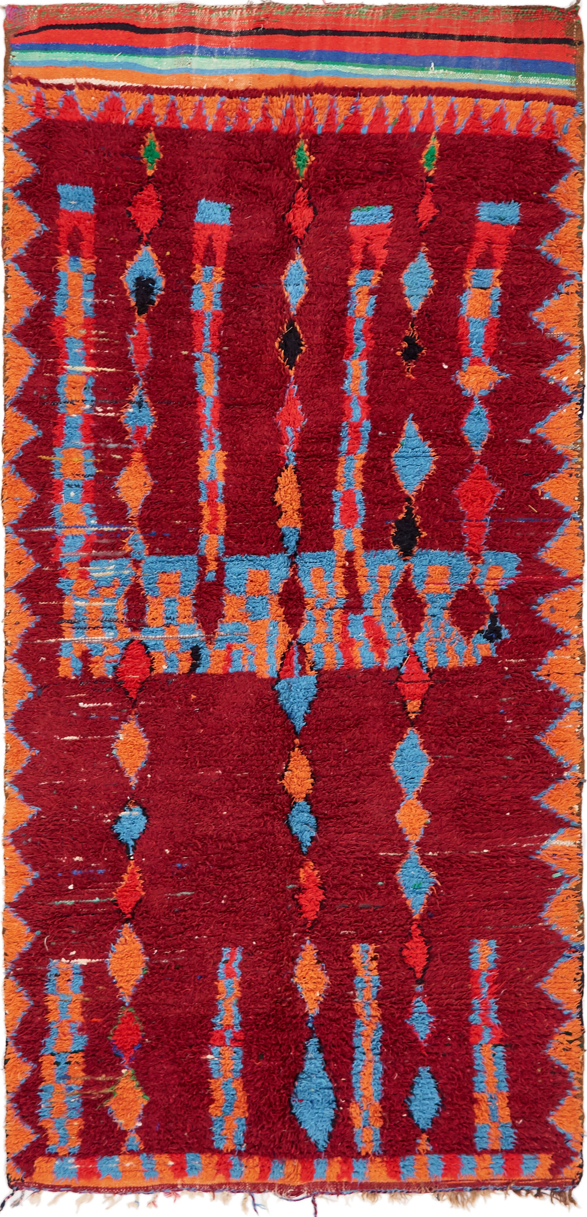One-of-a-Kind Tavistock Hand-Knotted Wool Red Area Rug