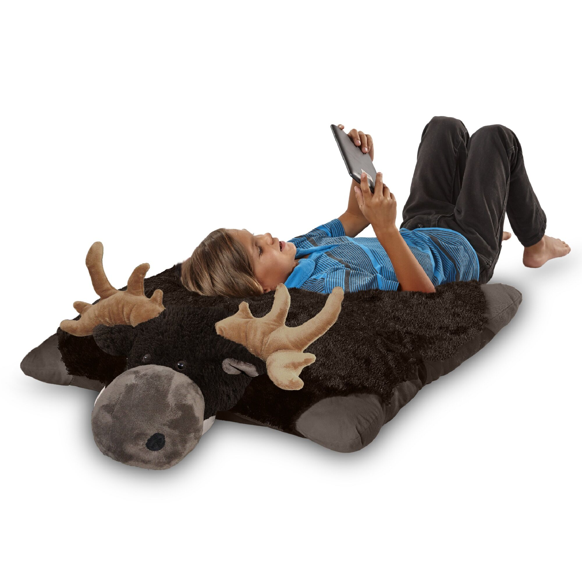 Jumboz Wild Moose Plush Floor Pillow