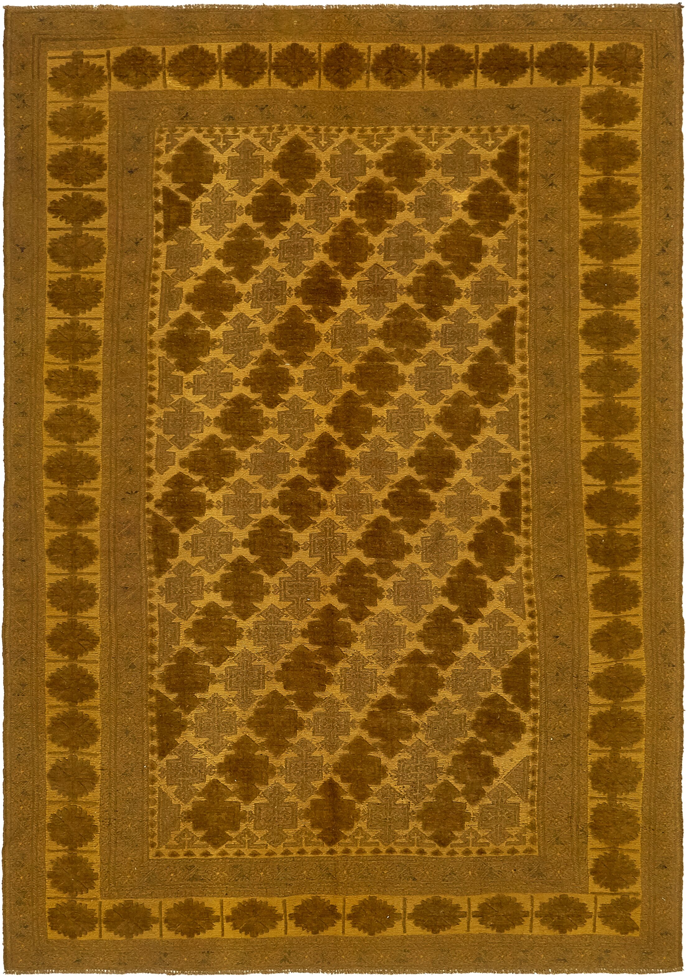 One-of-a-Kind Earley Hand-Knotted Wool Brown/Beige Area Rug