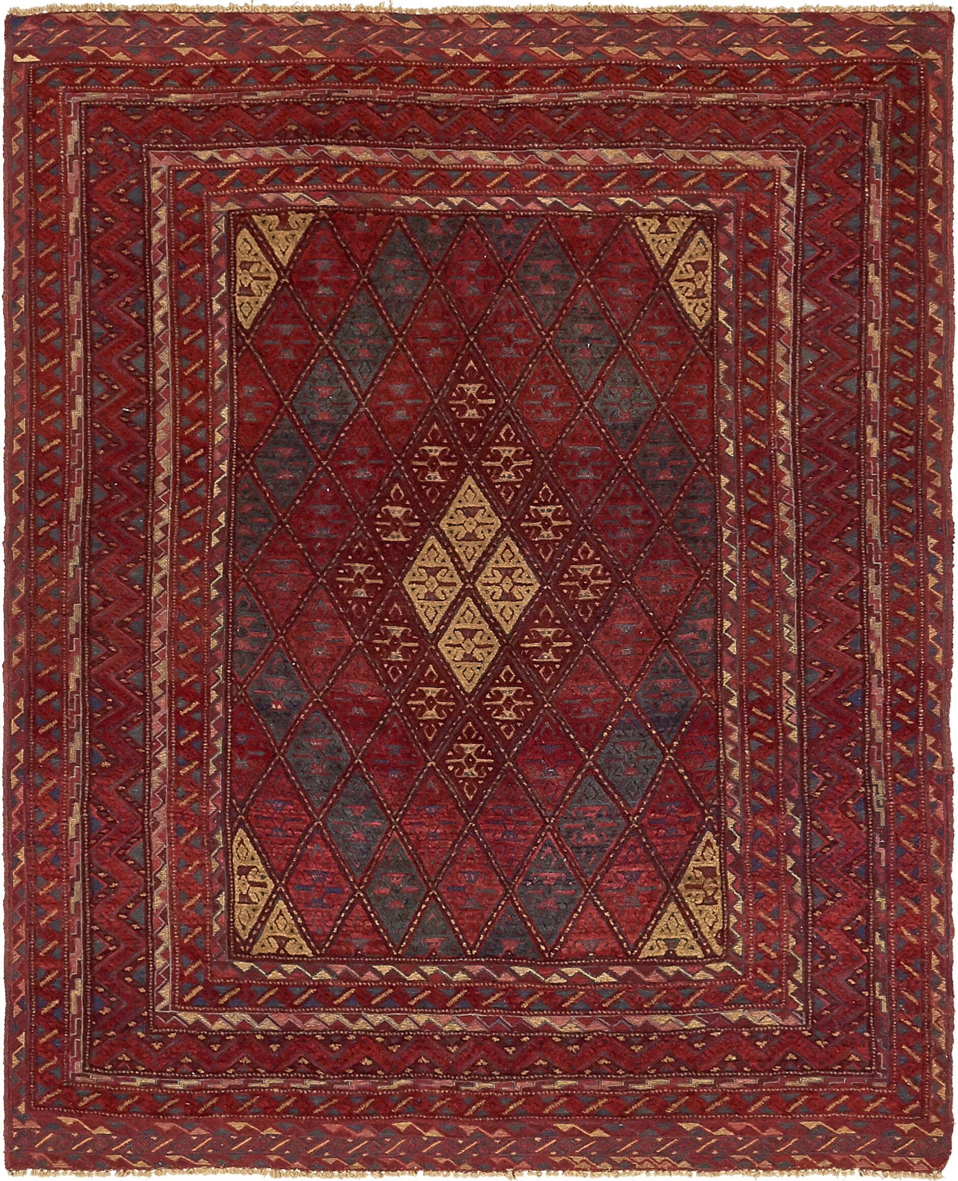 One-of-a-Kind Earley Hand-Knotted Wool Black/Brown Area Rug