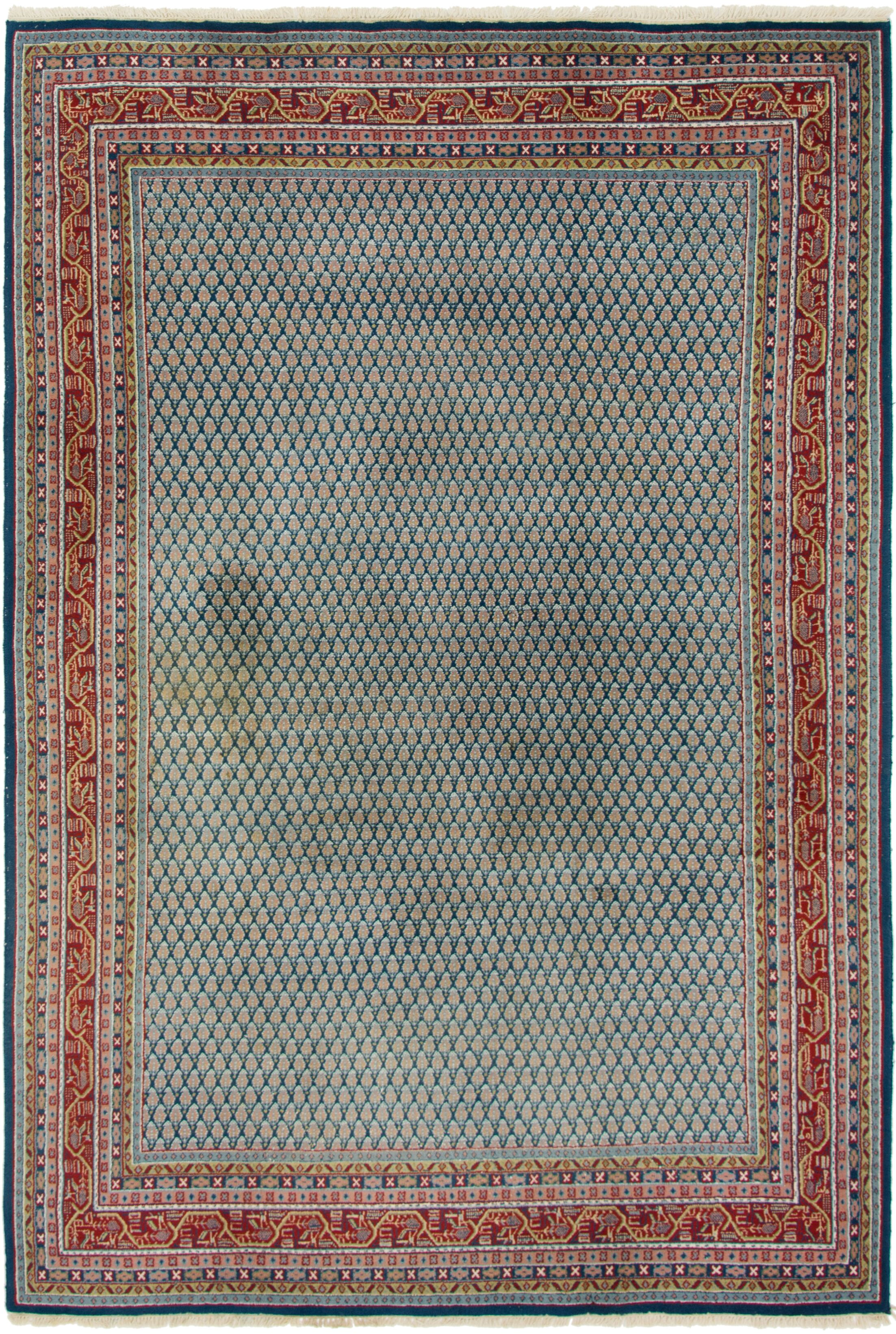 One-of-a-Kind Ilford Hand-Knotted Wool Pink/Blue Area Rug