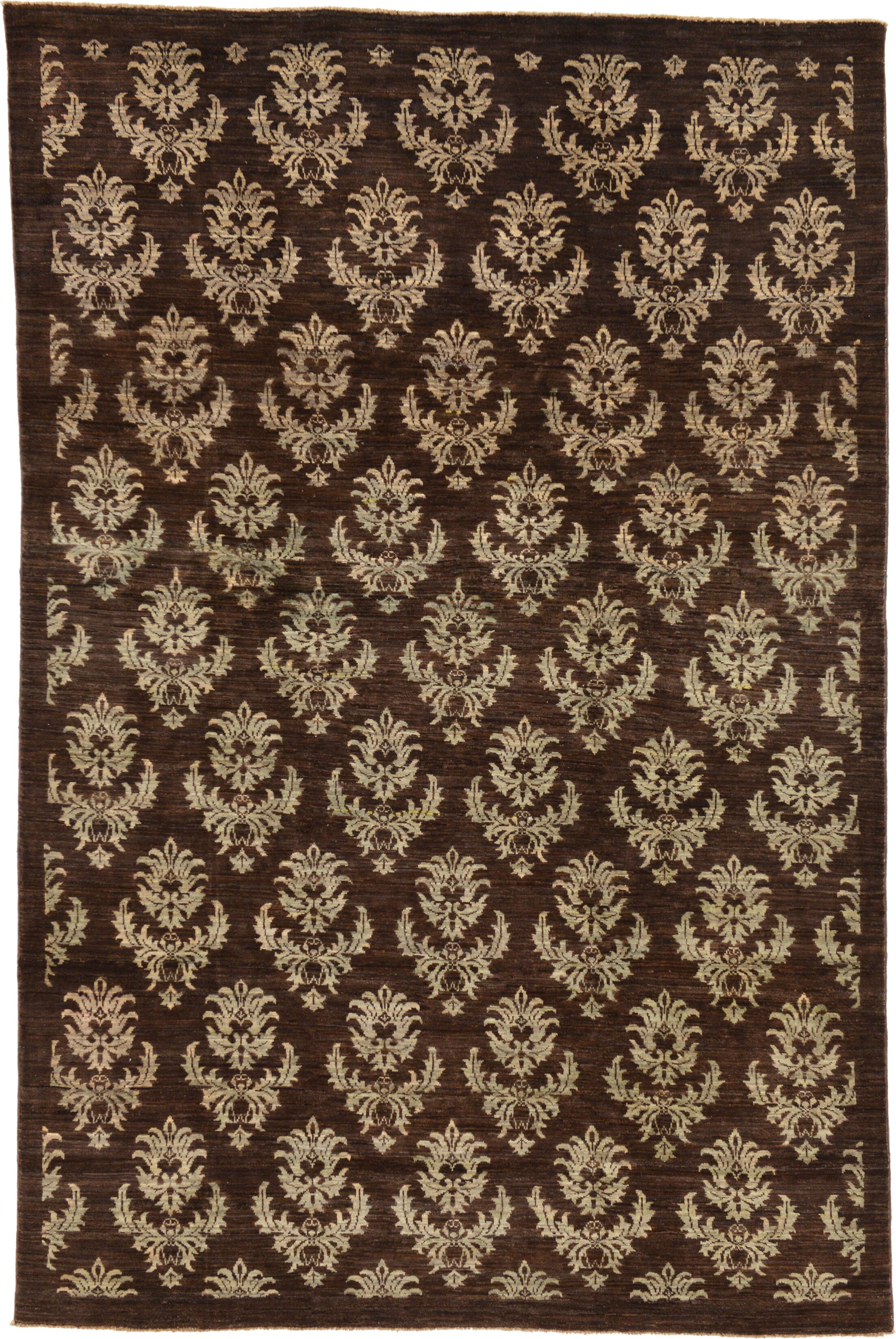 One-of-a-Kind Nash Hand-Knotted Wool Beige/Brown Area Rug