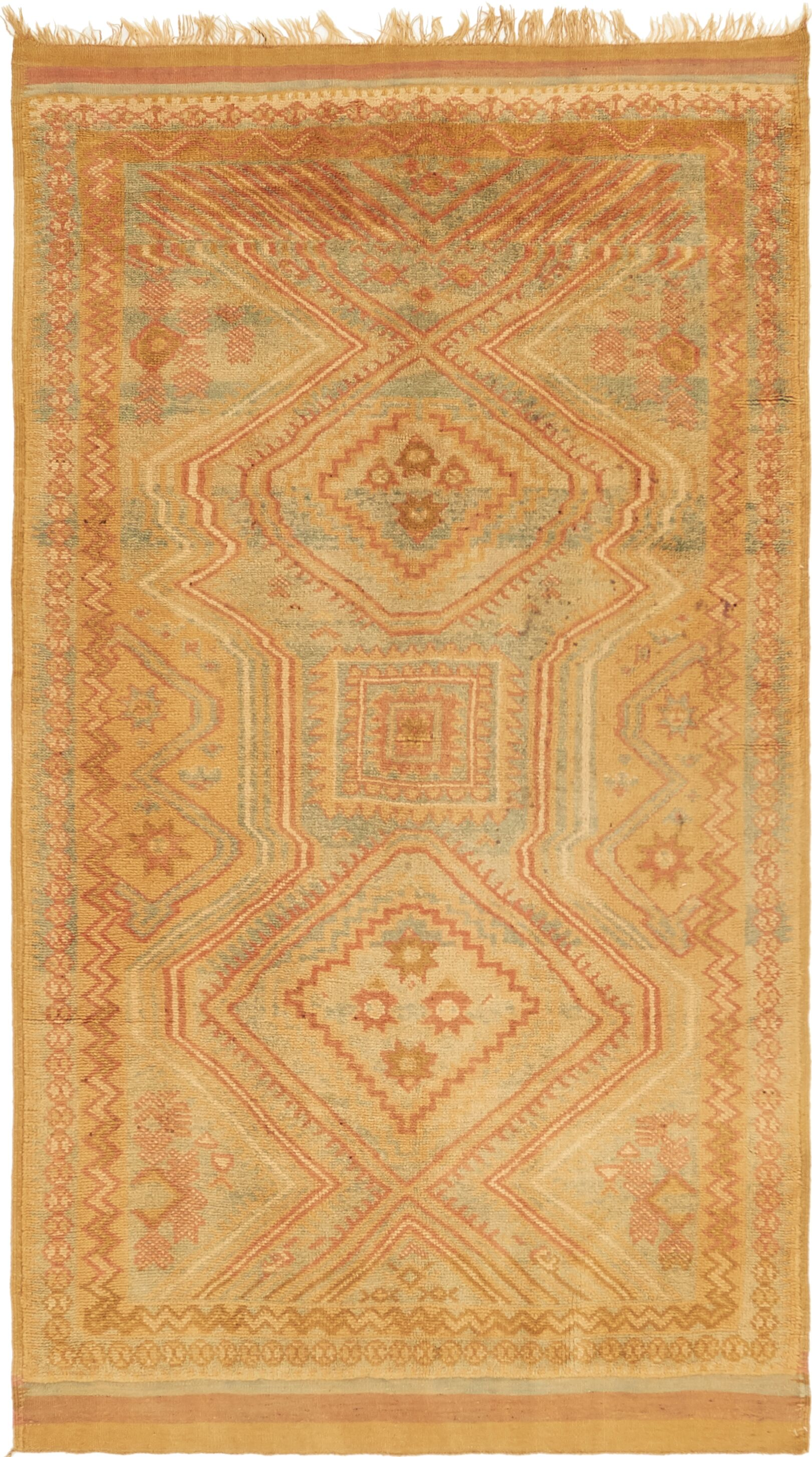 One-of-a-Kind Derwent Hand-Knotted Wool Brown Area Rug