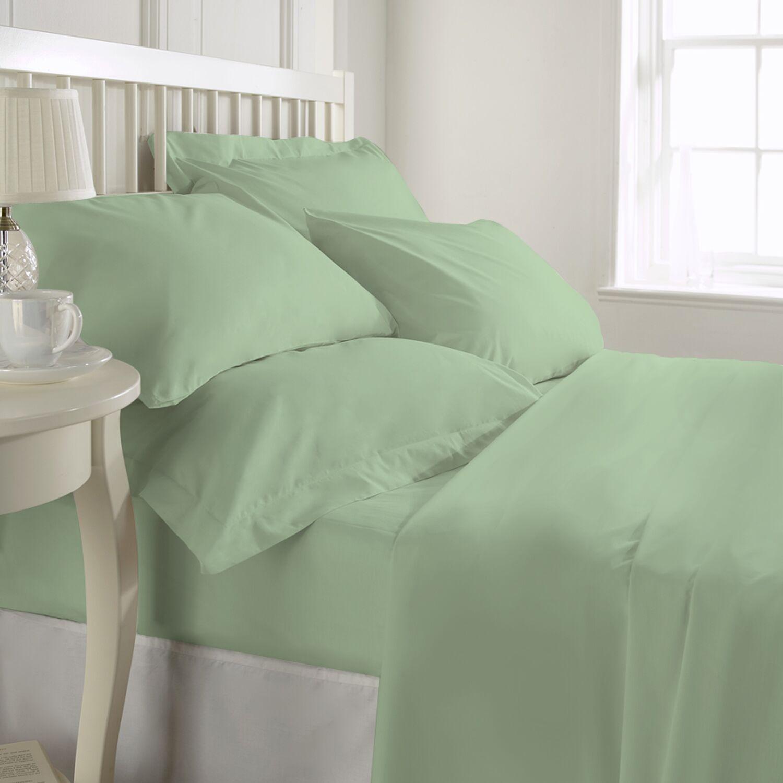 Egremt 600 Thread Count 100% Cotton Sheet Set Size: Queen, Color: Sage