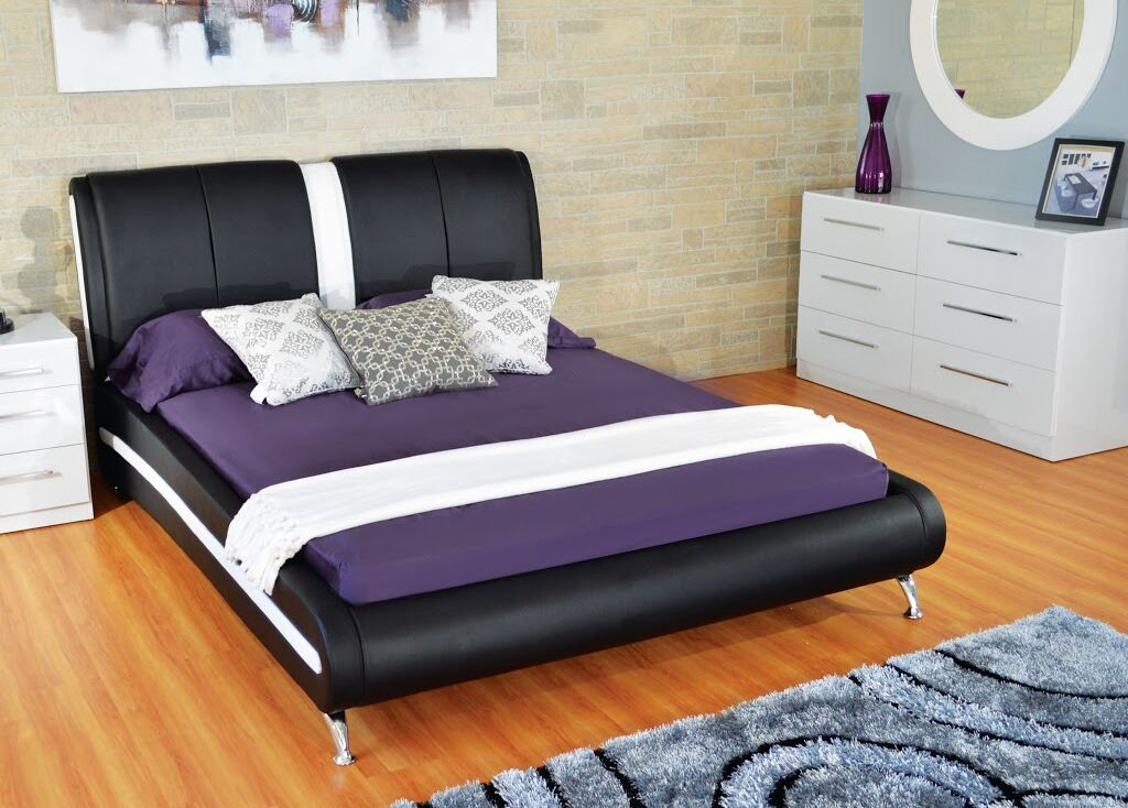 Madelynn Queen Upholstered Platform Bed