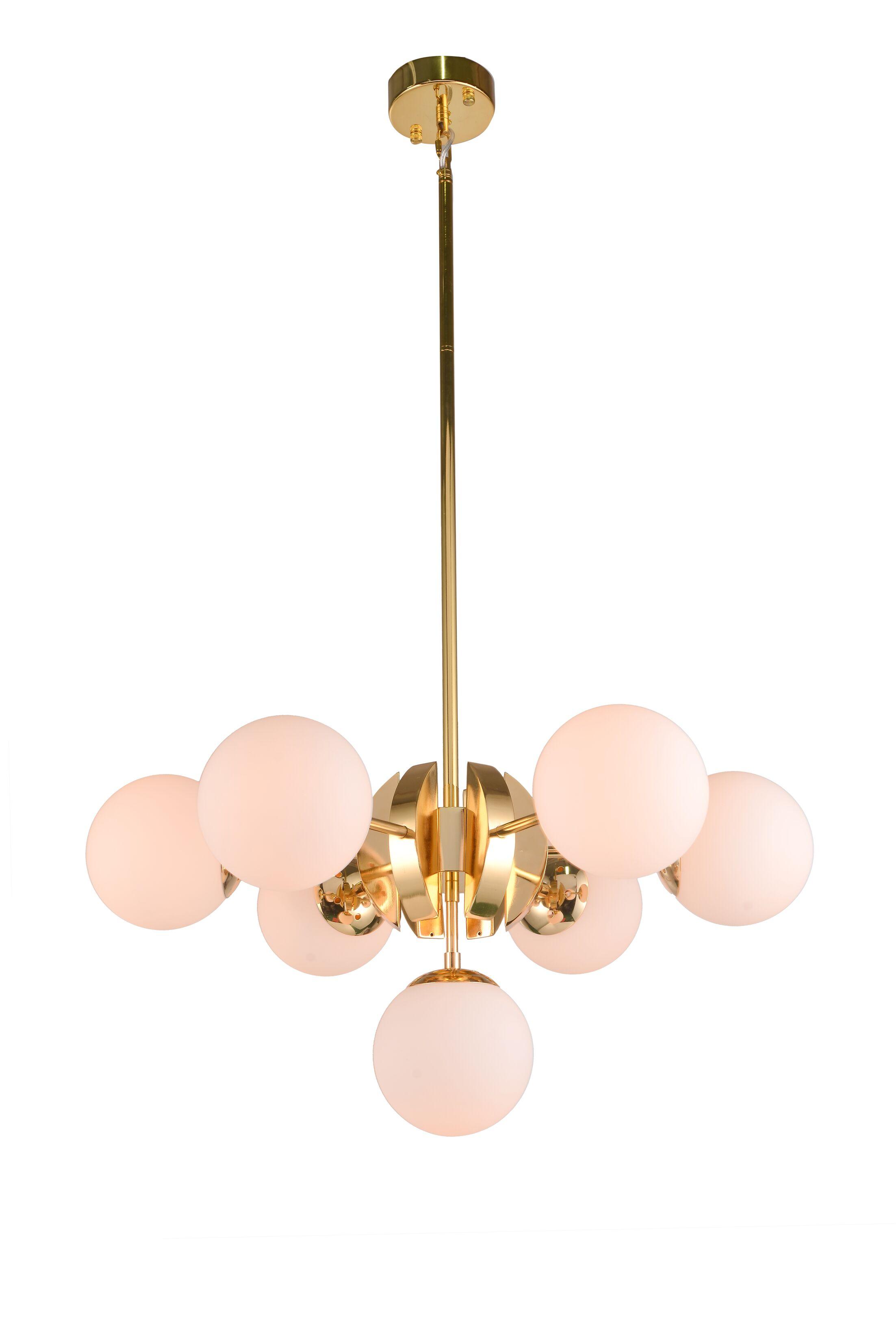 Burslem 7-Light Sputnik Chandelier