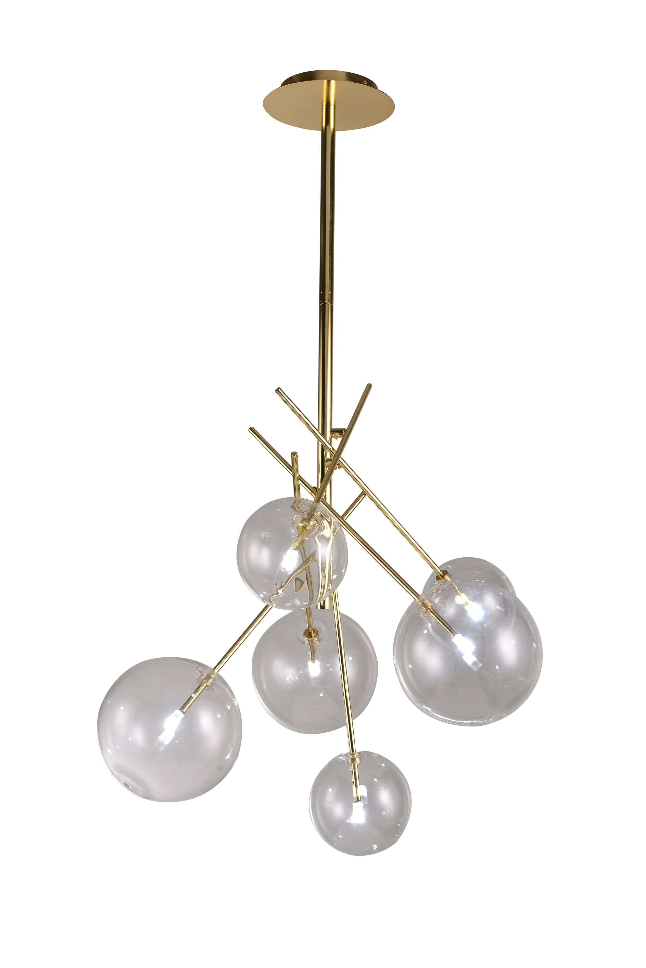 Cheadle 6-Light Sputnik Chandelier