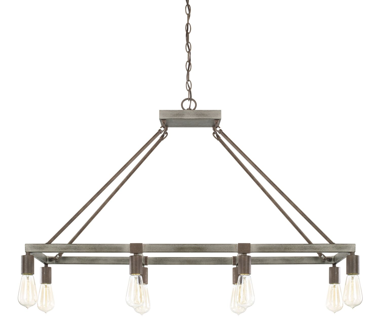 Hitton 8-Light Kitchen Island Pendant