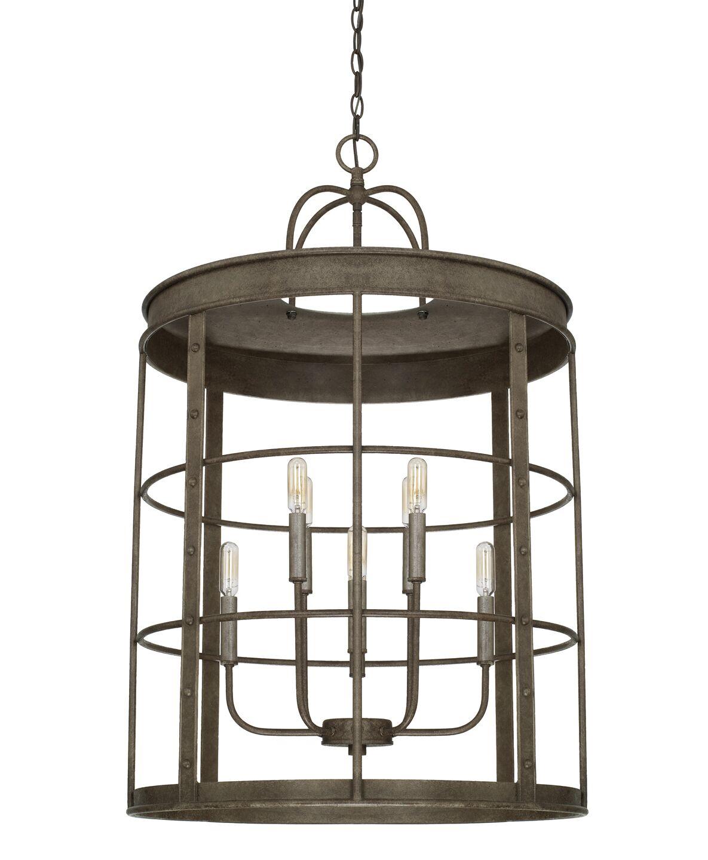8-Light Lantern Pendant