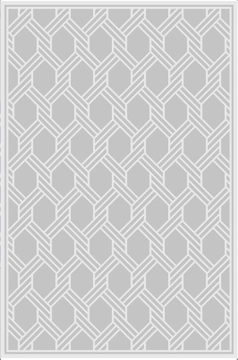 Transitiona Hand-Knotted Wool Gray Area Rug