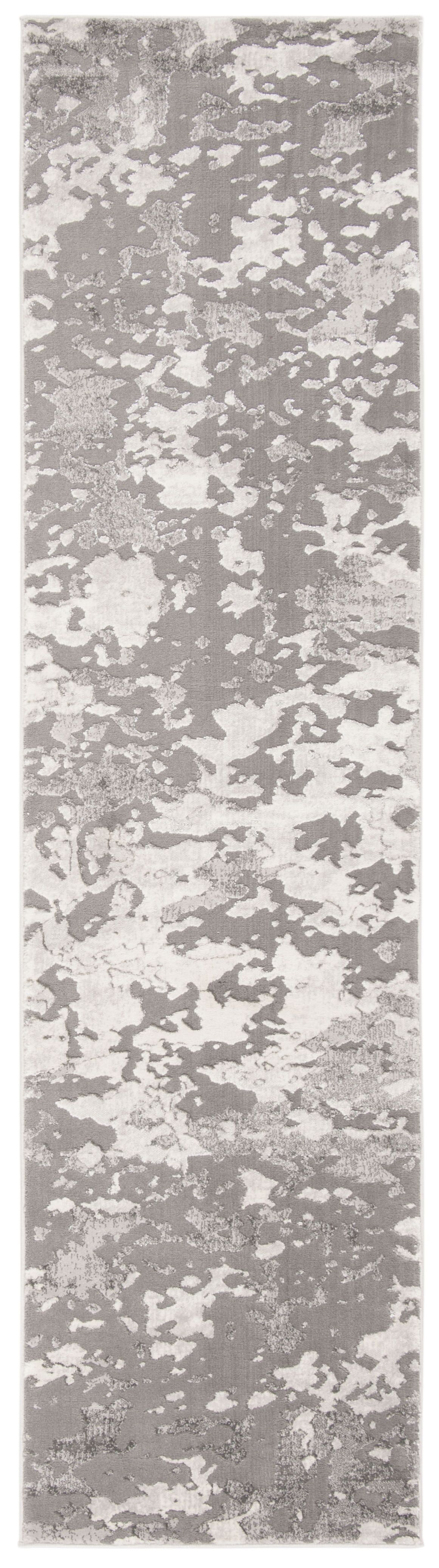 Dulce Gray/Light Gray Area Rug Rug Size: Rectangle 4' x 6'