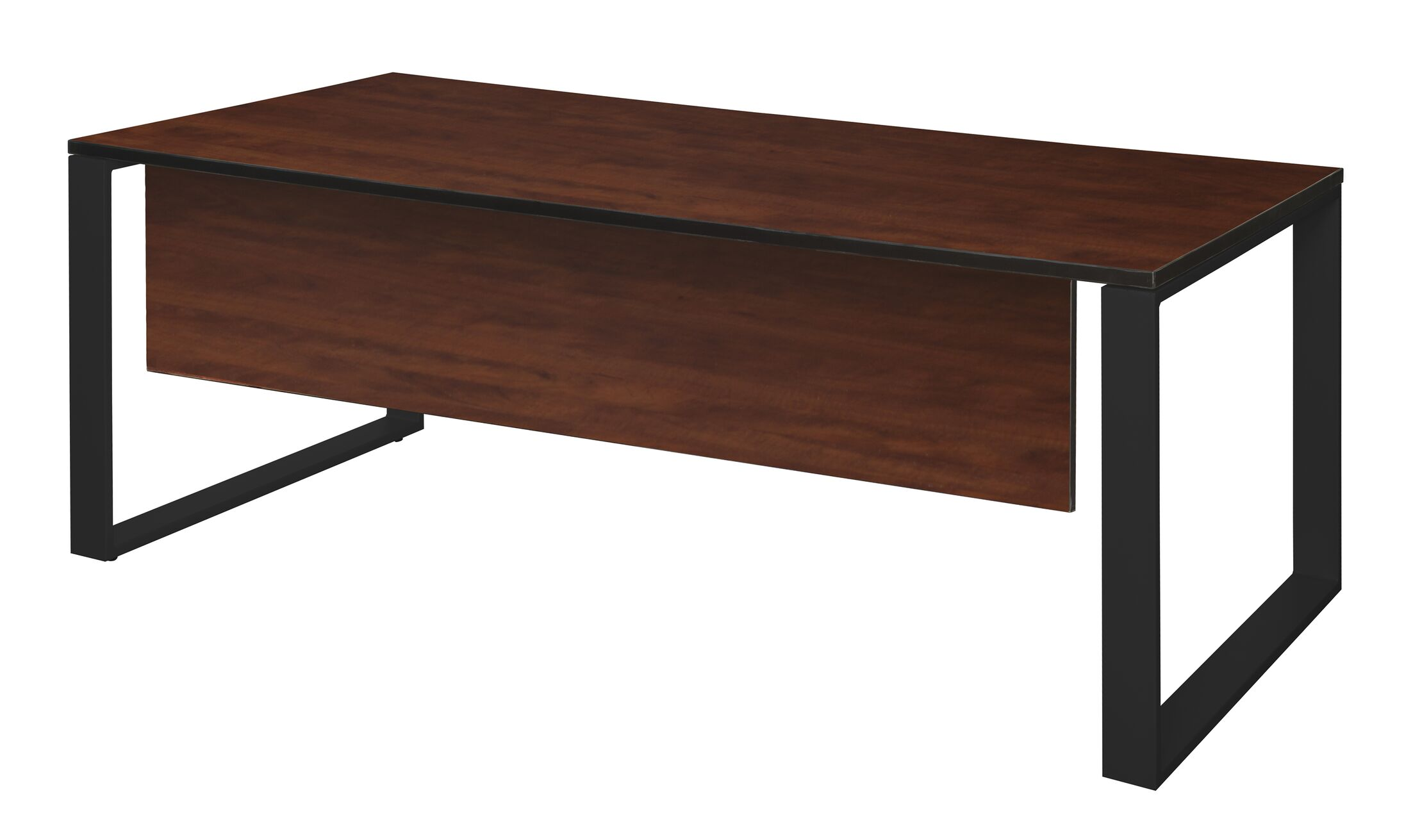 Mireya Training Table with Modesty Panel Tabletop Finish: Cherry, Size: 30