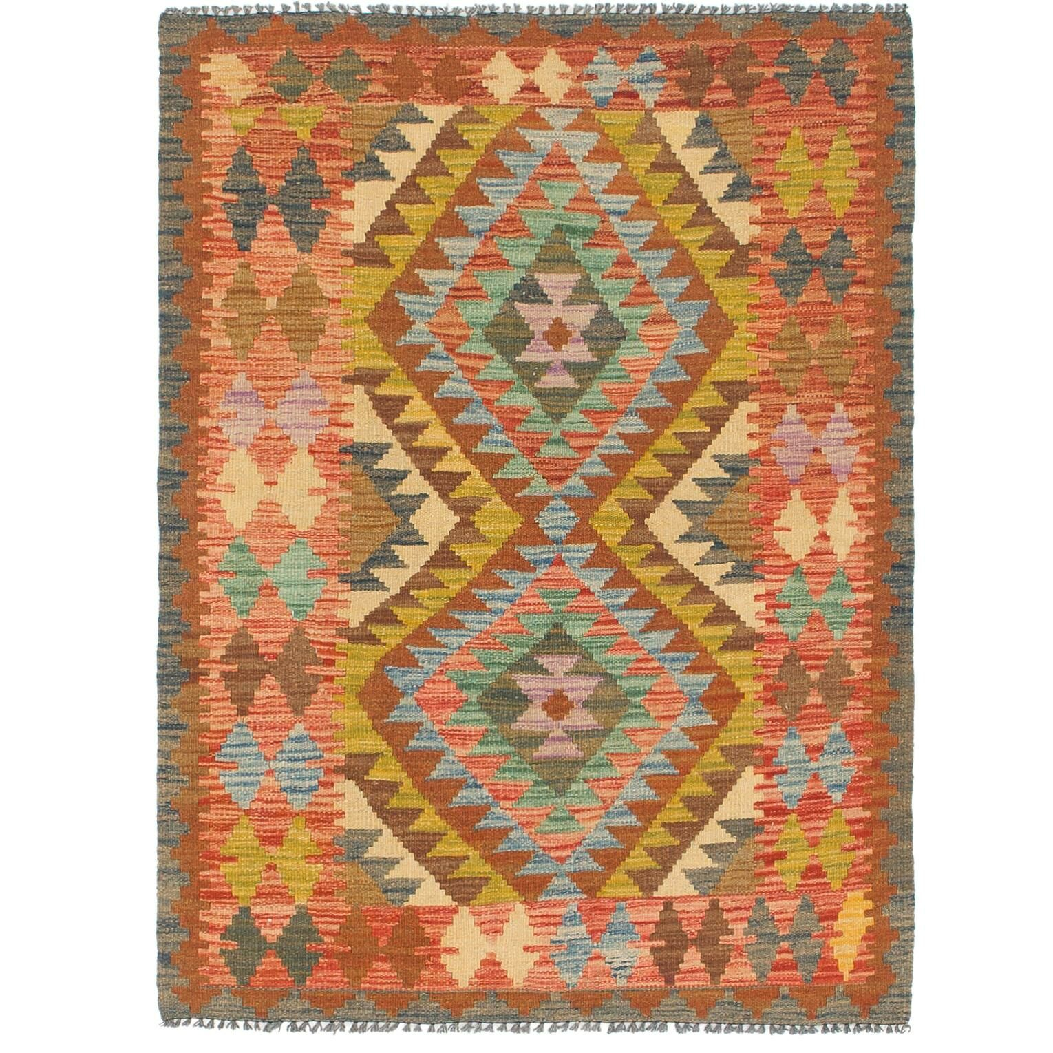 One-of-a-Kind Lorain Hand-Knotted Wool 3'3