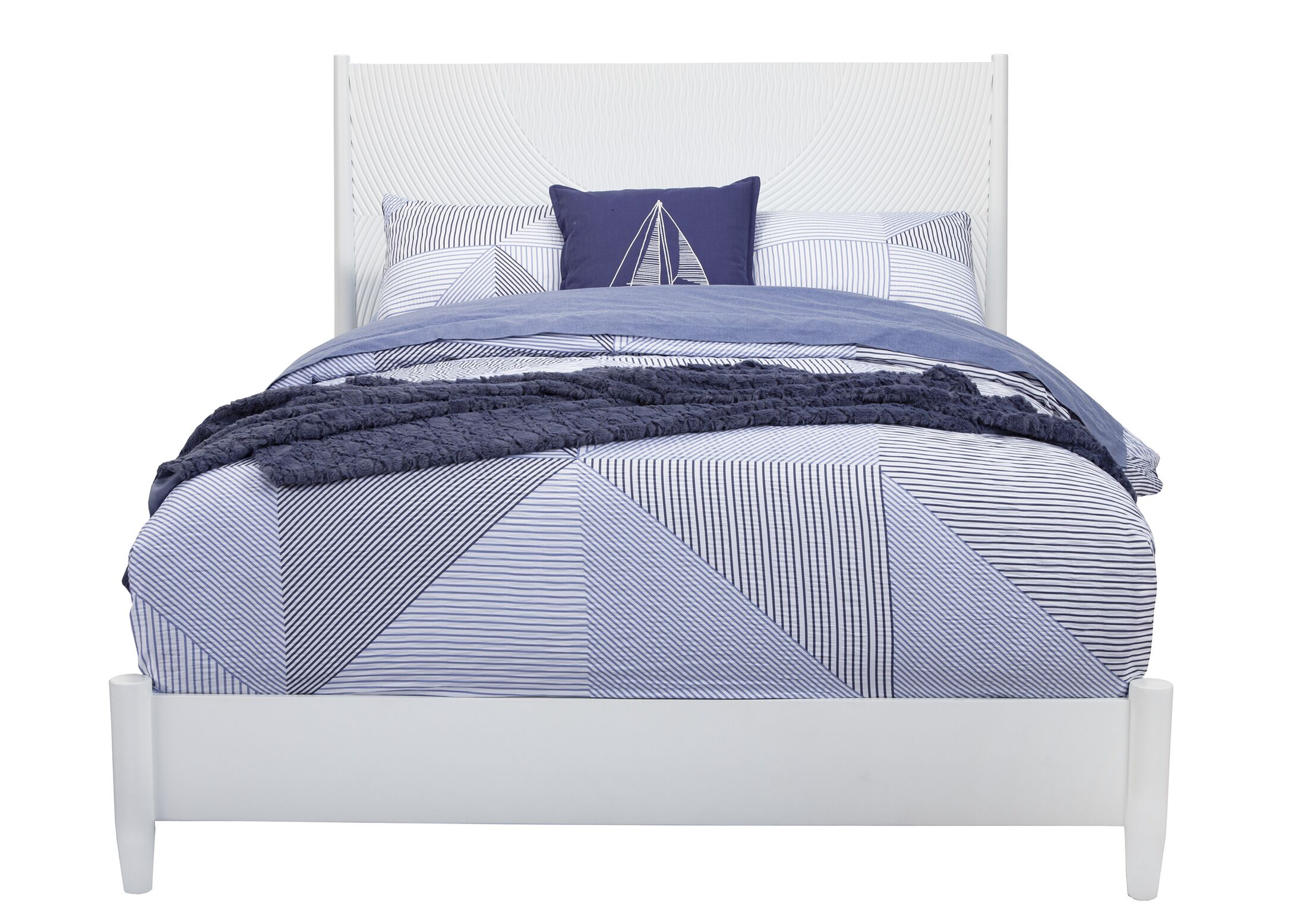 Crowe Panel Bed Size: King