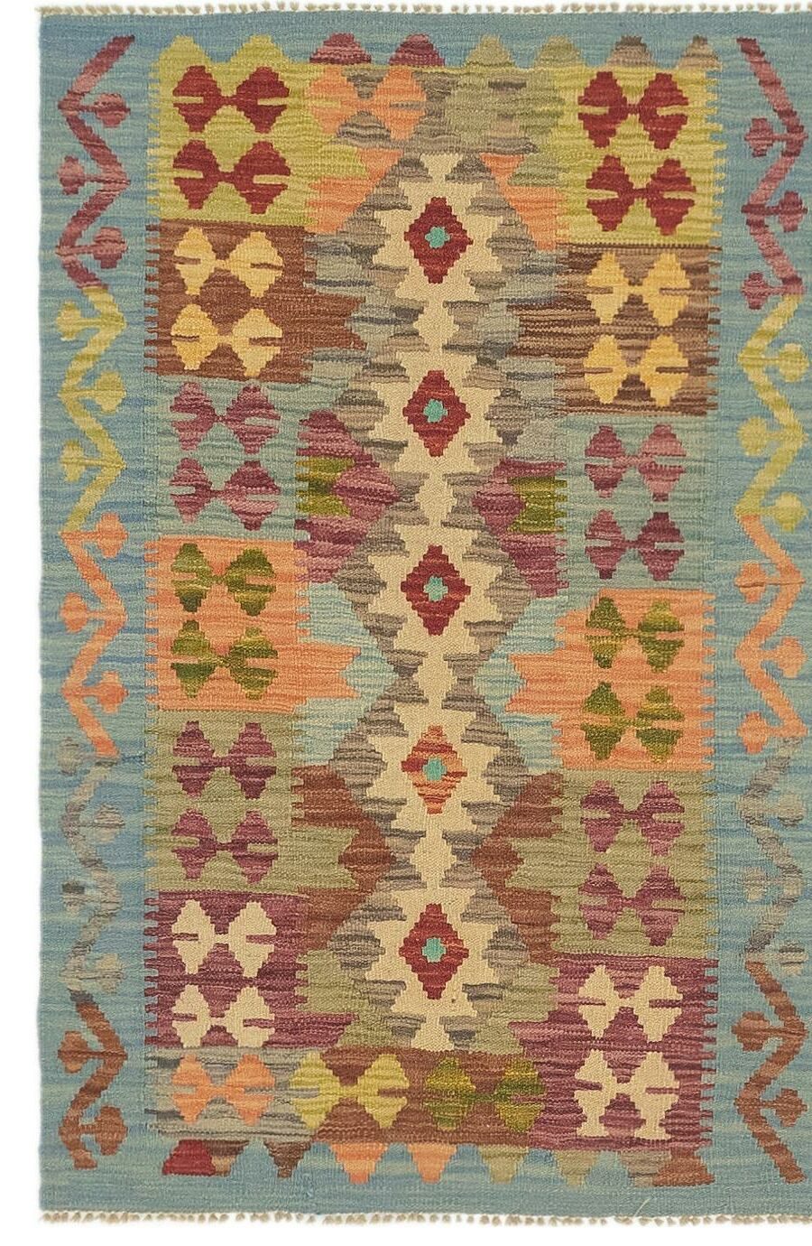 One-of-a-Kind Lorain Hand-Knotted Wool 2'8