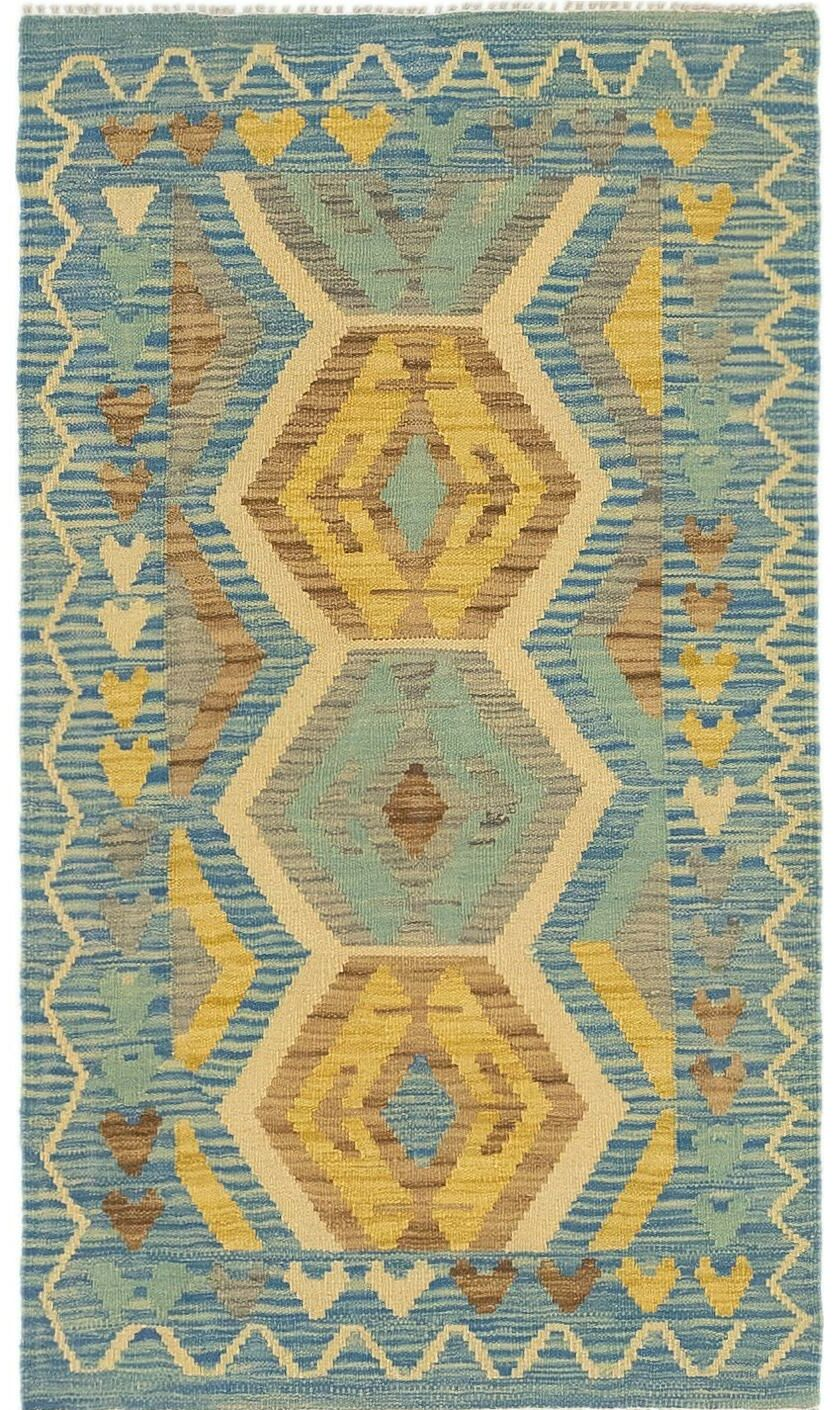 One-of-a-Kind Lorain Hand-Knotted Wool 2'6