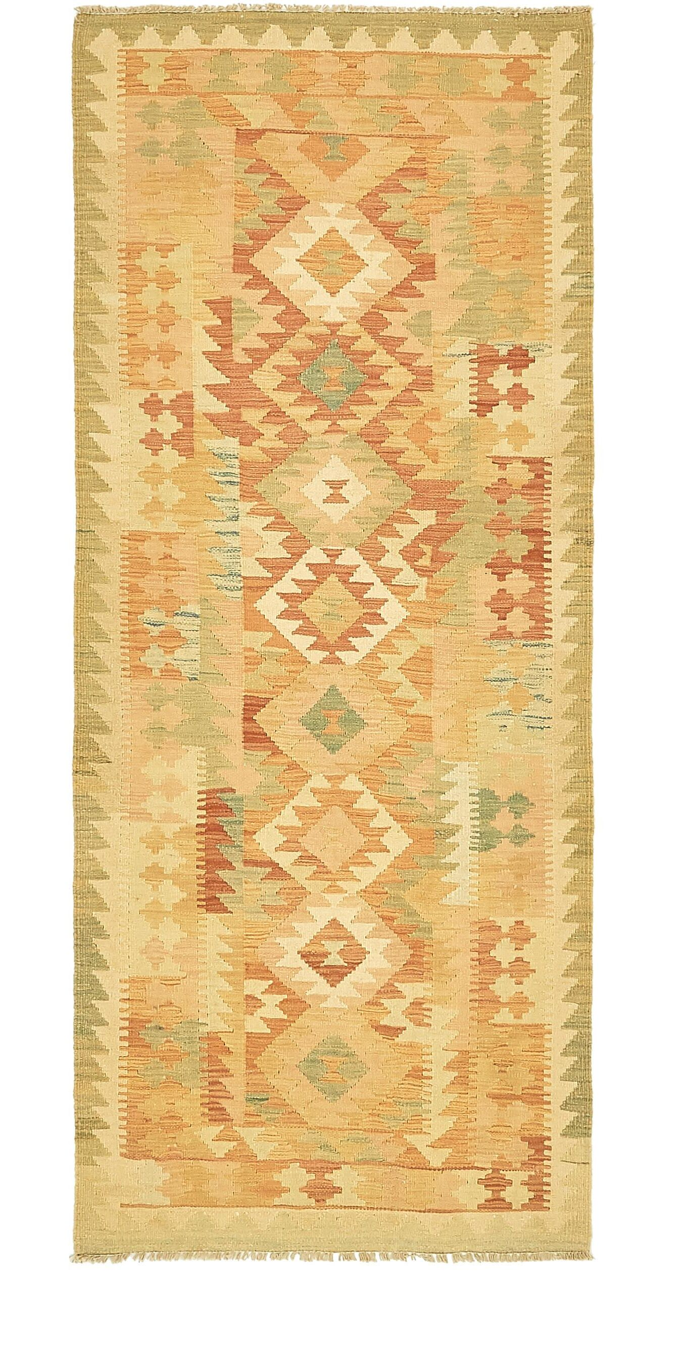 One-of-a-Kind Doorfield Hand-Knotted Wool  2'10