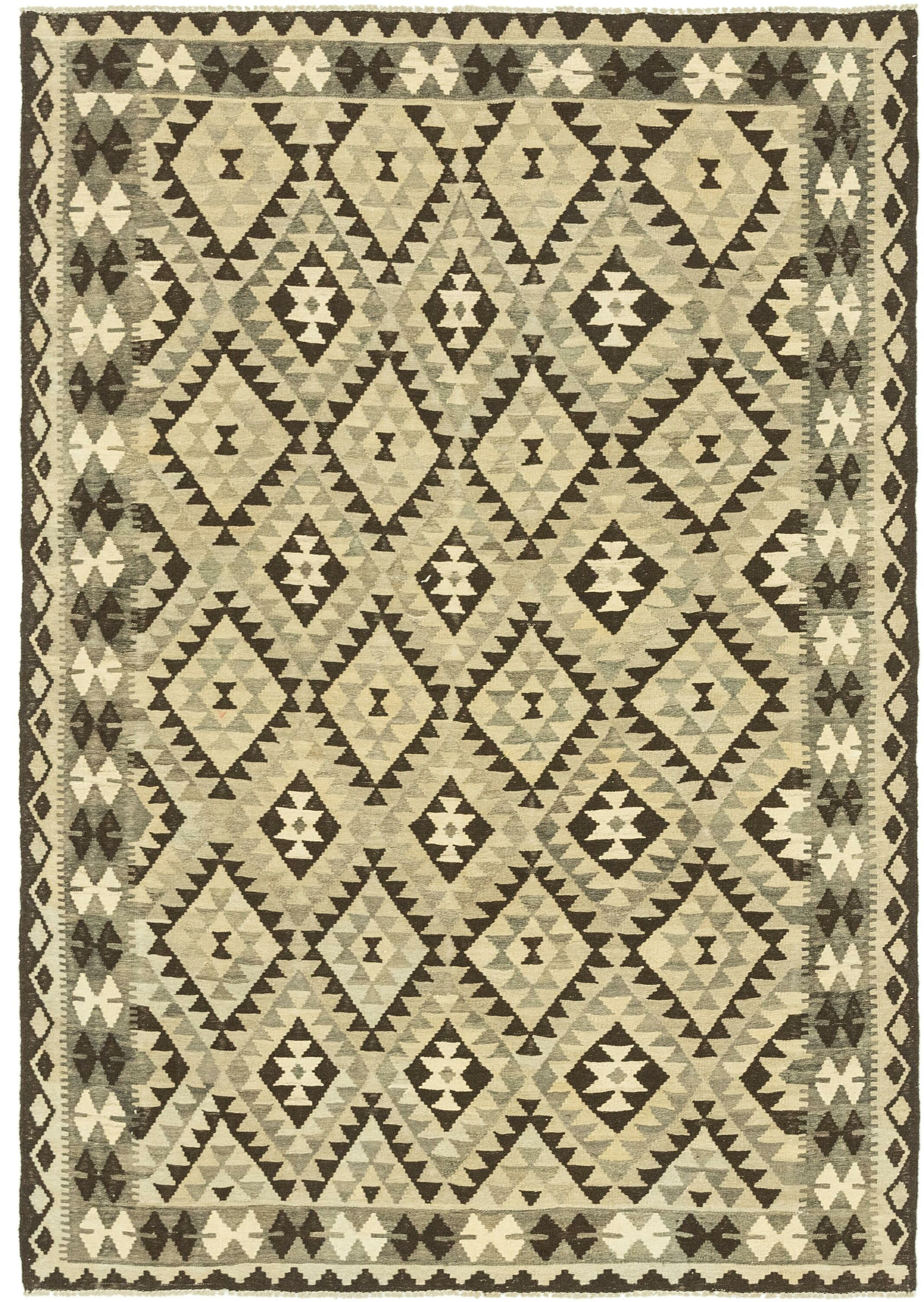 One-of-a-Kind Lorain Hand-Knotted Wool 5'9