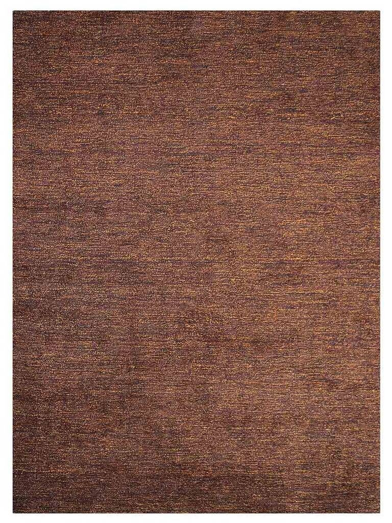 Linhart Gabbeh Hand-Knotted Silk Brown Area Rug Rug Size: Rectangle 9' x 12'