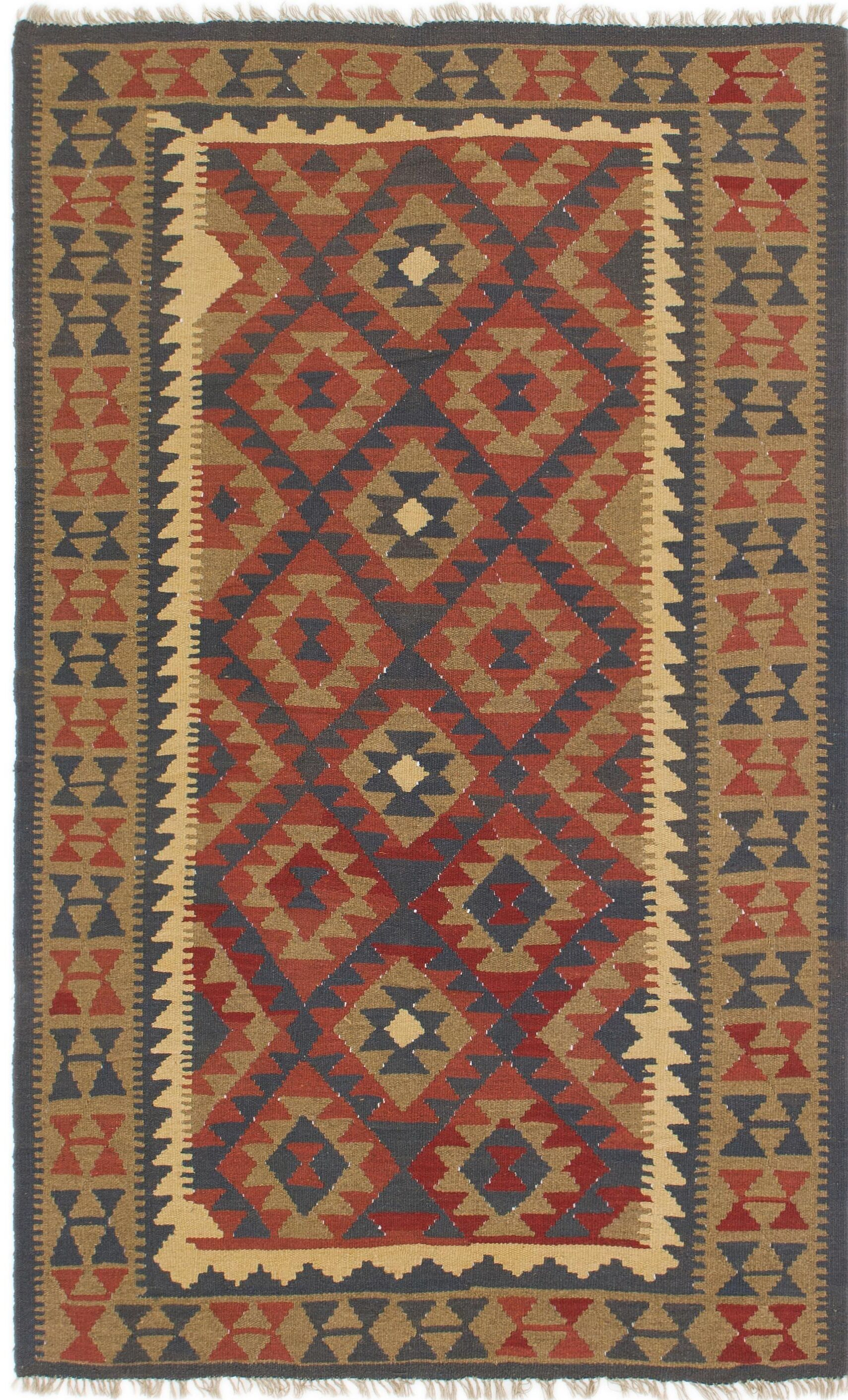 One-of-a-Kind Lorain Hand-Knotted Wool 5' x 8'5