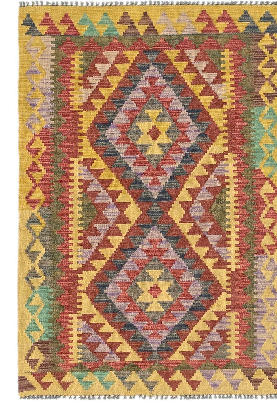 One-of-a-Kind Lorain Hand-Knotted Wool 2'9