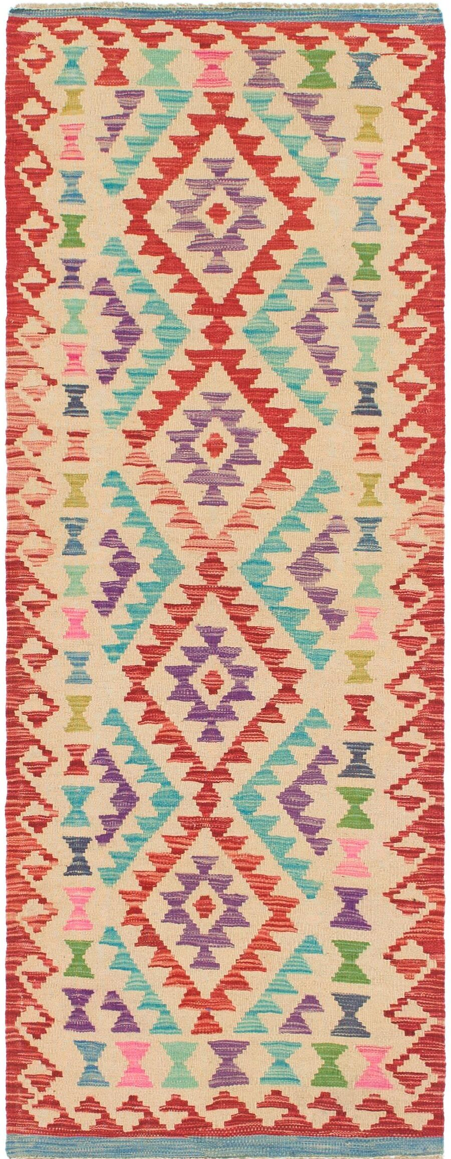 One-of-a-Kind Lorain Hand-Knotted Wool  2'5