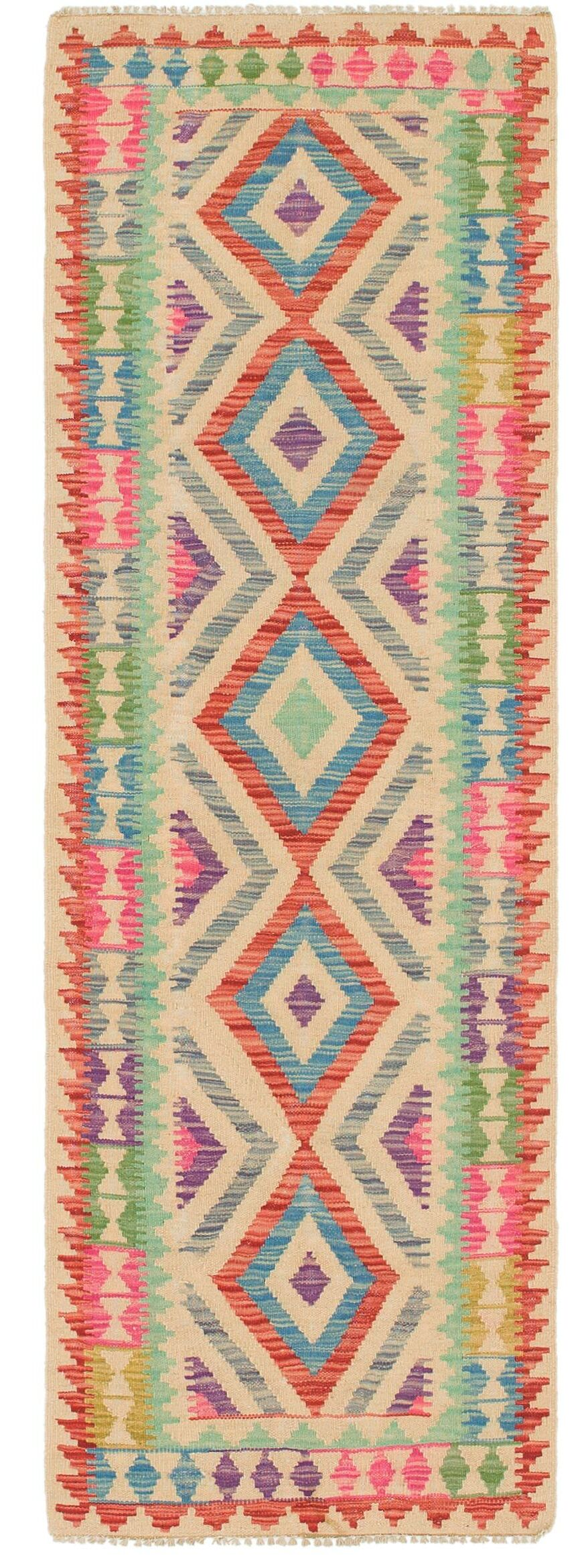 One-of-a-Kind Lorain Hand-Knotted Wool  2'2