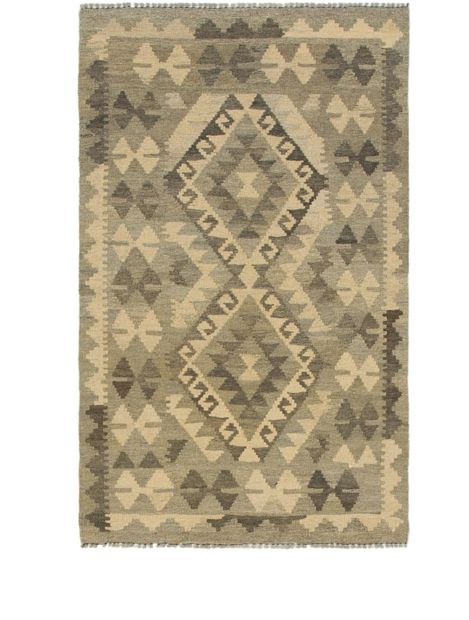 One-of-a-Kind Lorain Hand-Knotted Wool 2'7