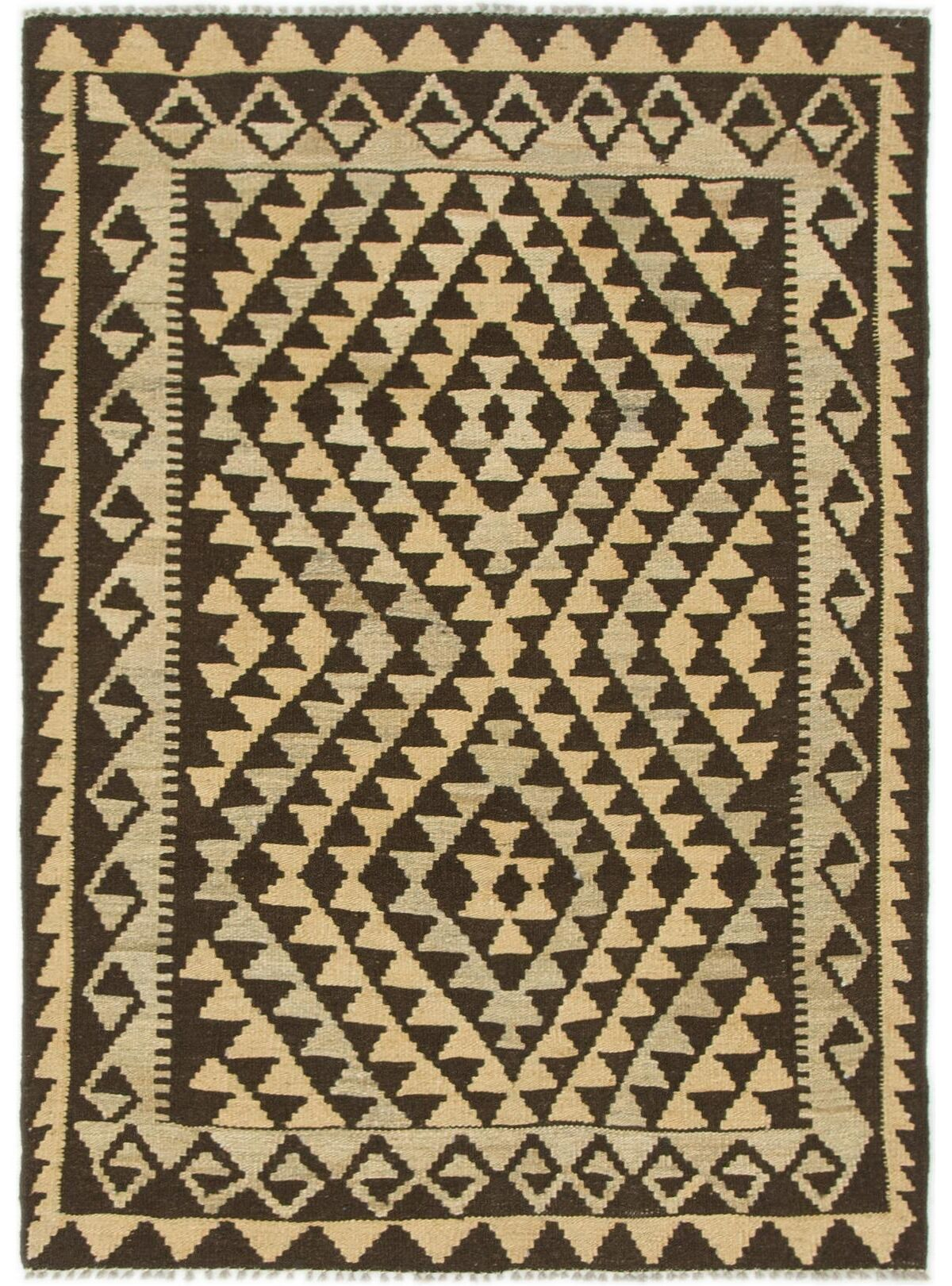 One-of-a-Kind Lorain Hand-Knotted Wool 3' x 4'1