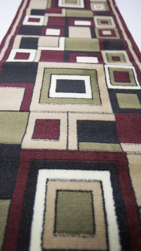Fowey Hand-Tufted Pink/Green/Black Area Rug Rug Size: Runner 3' x 8'