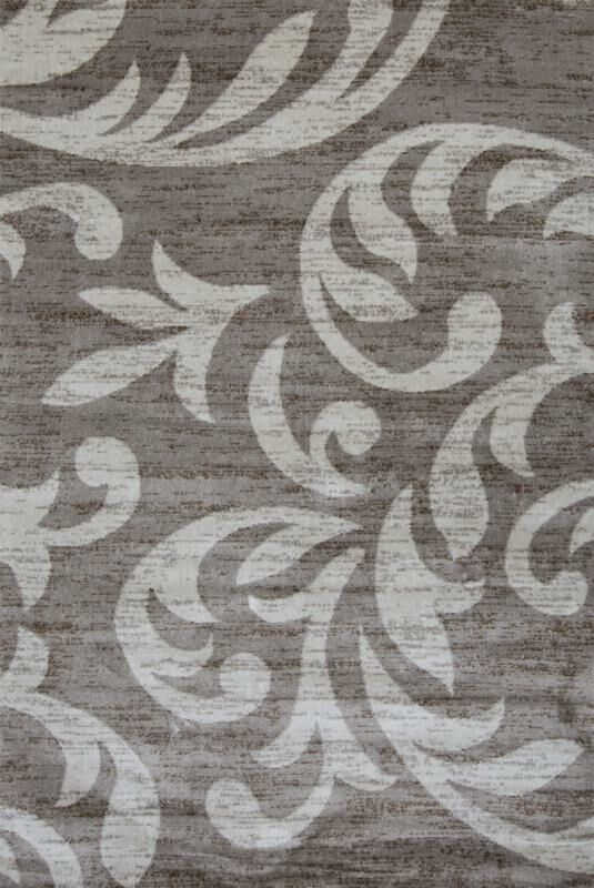Cummington Hand-Tufted Gray/White Area Rug Rug Size: Rectangle 8' x 10'