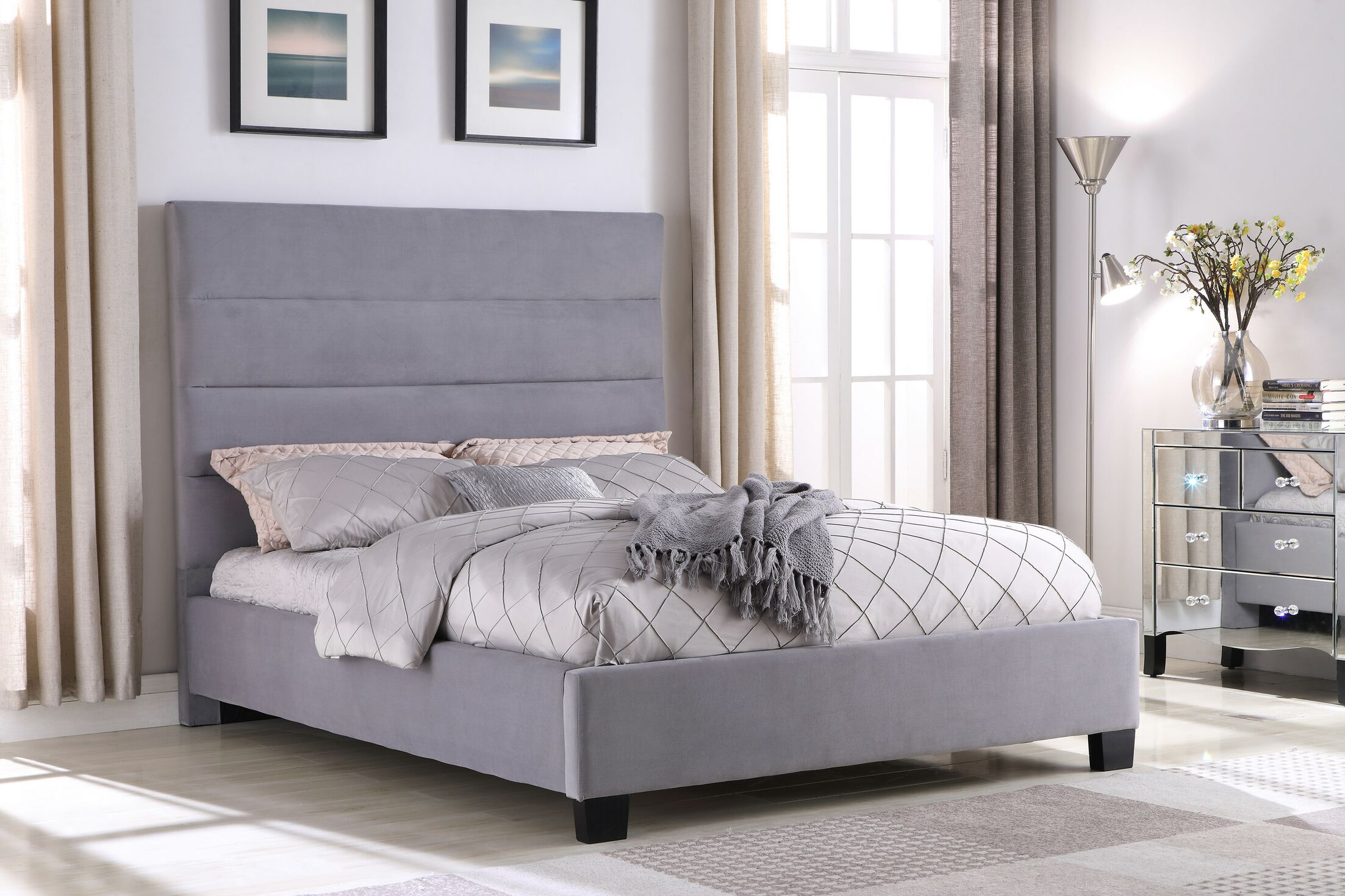 Ledezma Upholstered Platform Bed Size: Eastern King