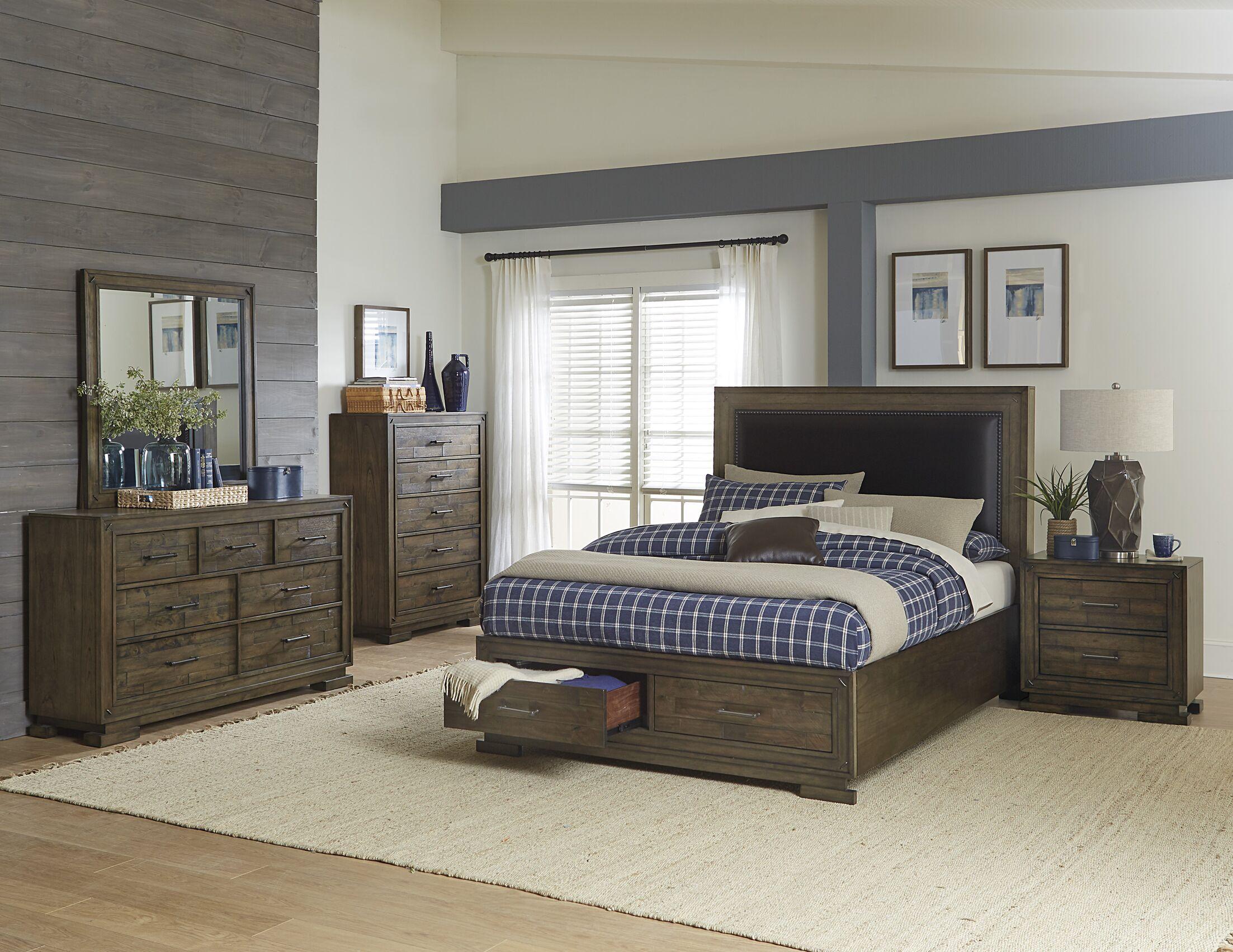 Shorehamby Upholstered Storage Platform Bed Size: Queen