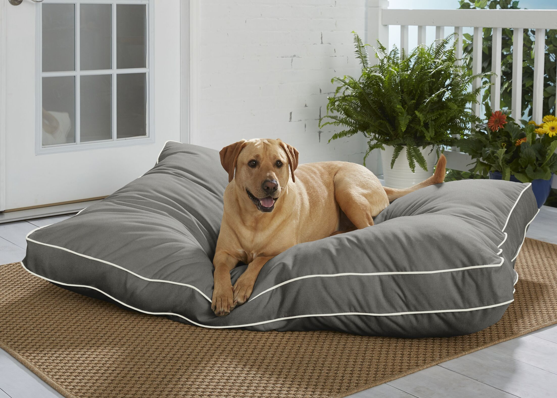 Feldspar Sunbrella Pillow/Classic Size: Extra Large (54