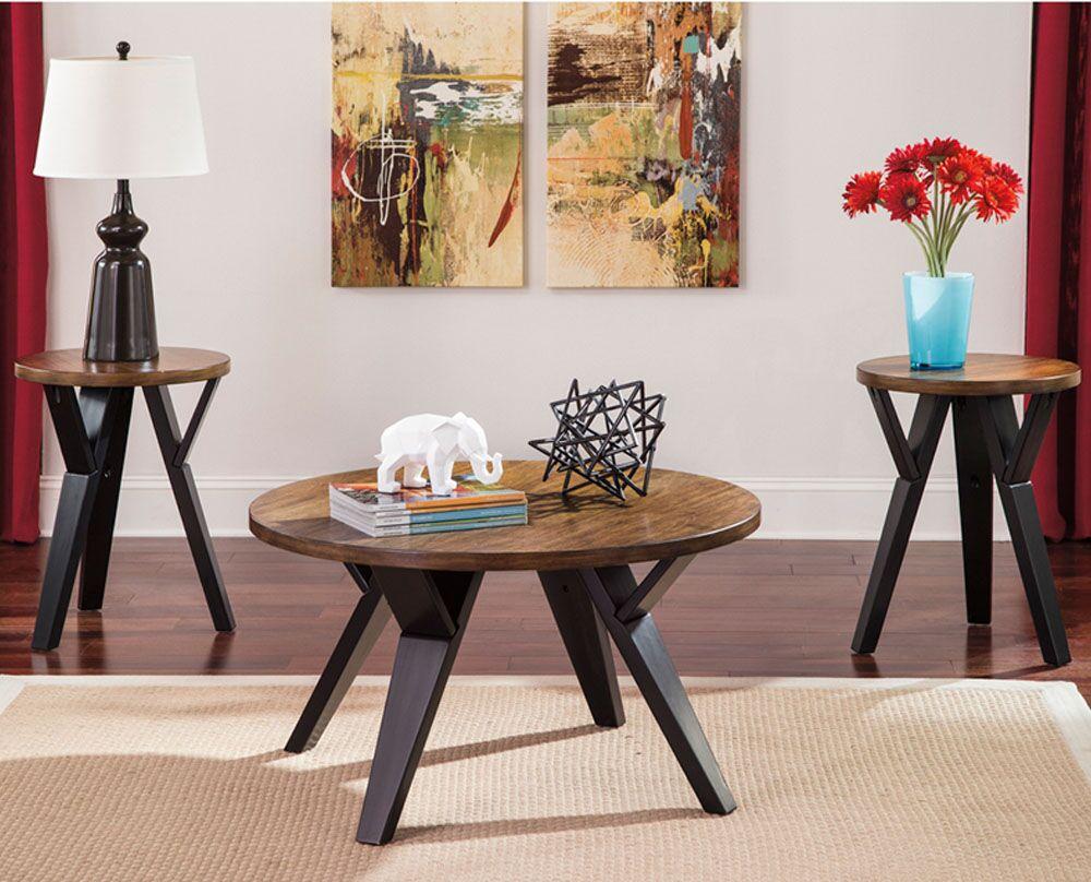 Knaresborough 3 Piece Coffee Table Set