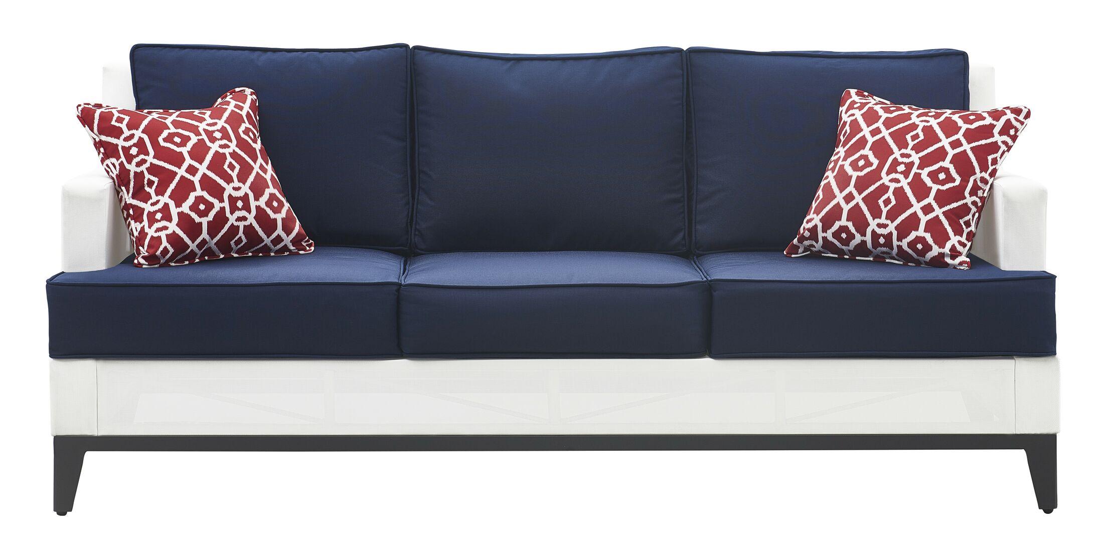 Hampton Patio Sofa with Cushions