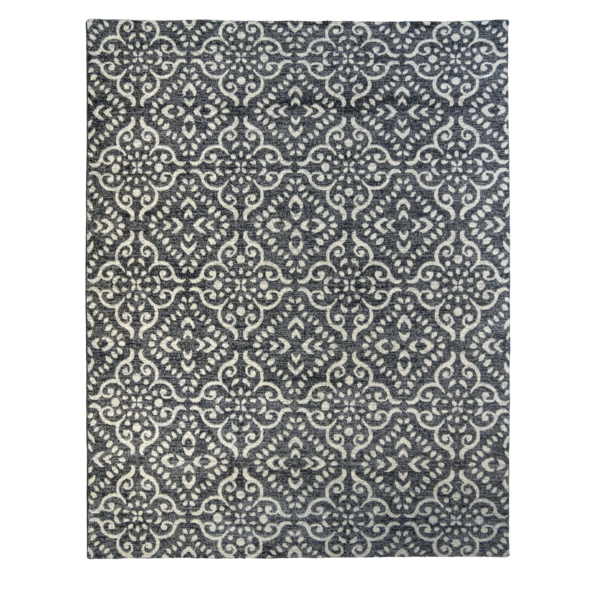 Enya Gray Area Rug Rug Size: Rectangle 8'10