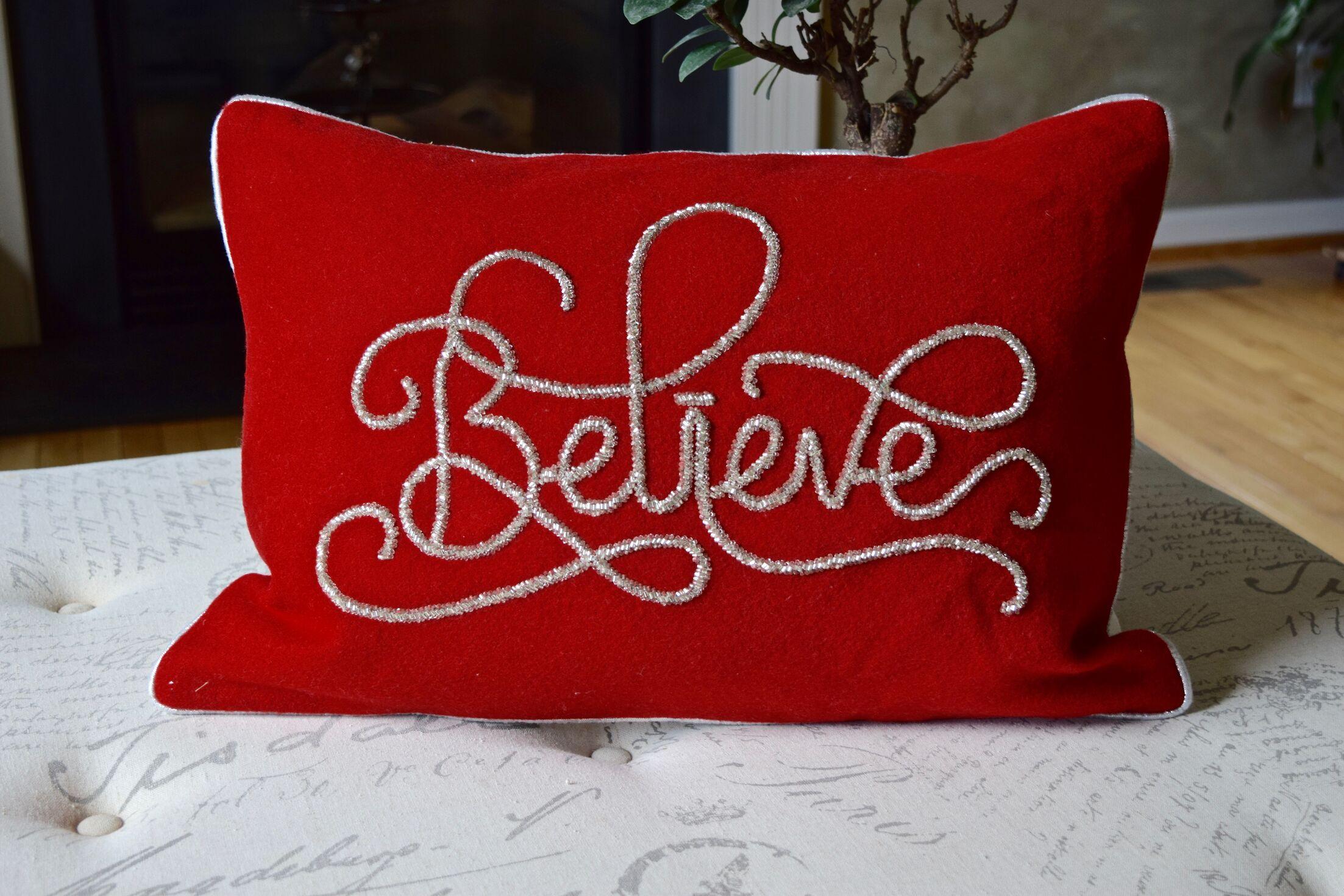 Hera Nothing Like Christmas Lumbar Pillow
