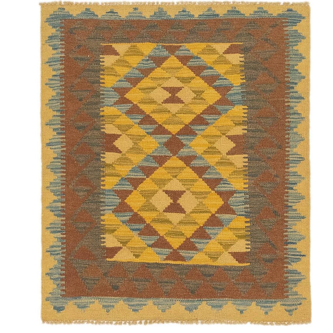 One-of-a-Kind Lorain Hand-Knotted 2'9